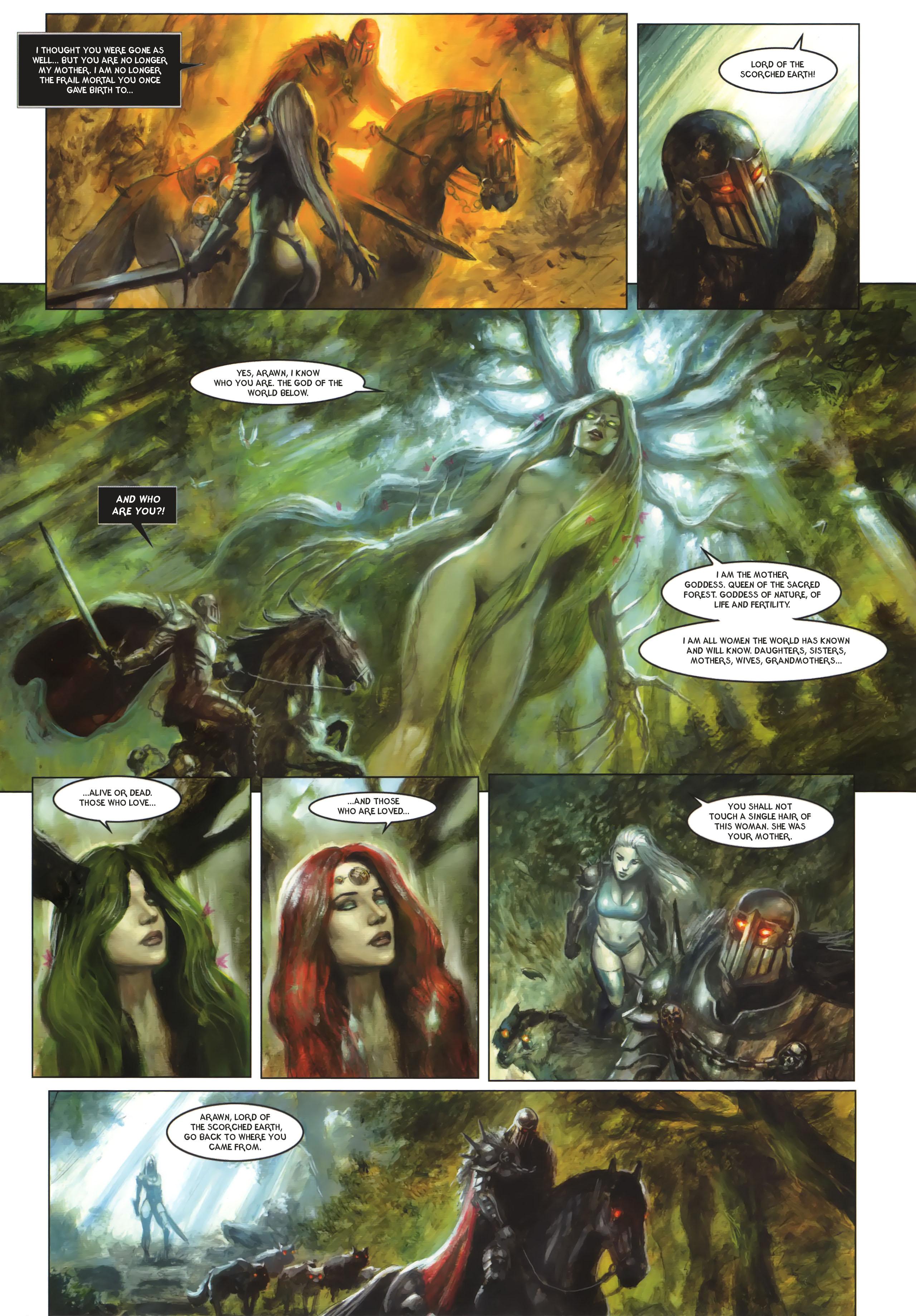 Read online Arawn comic -  Issue #6 - 47