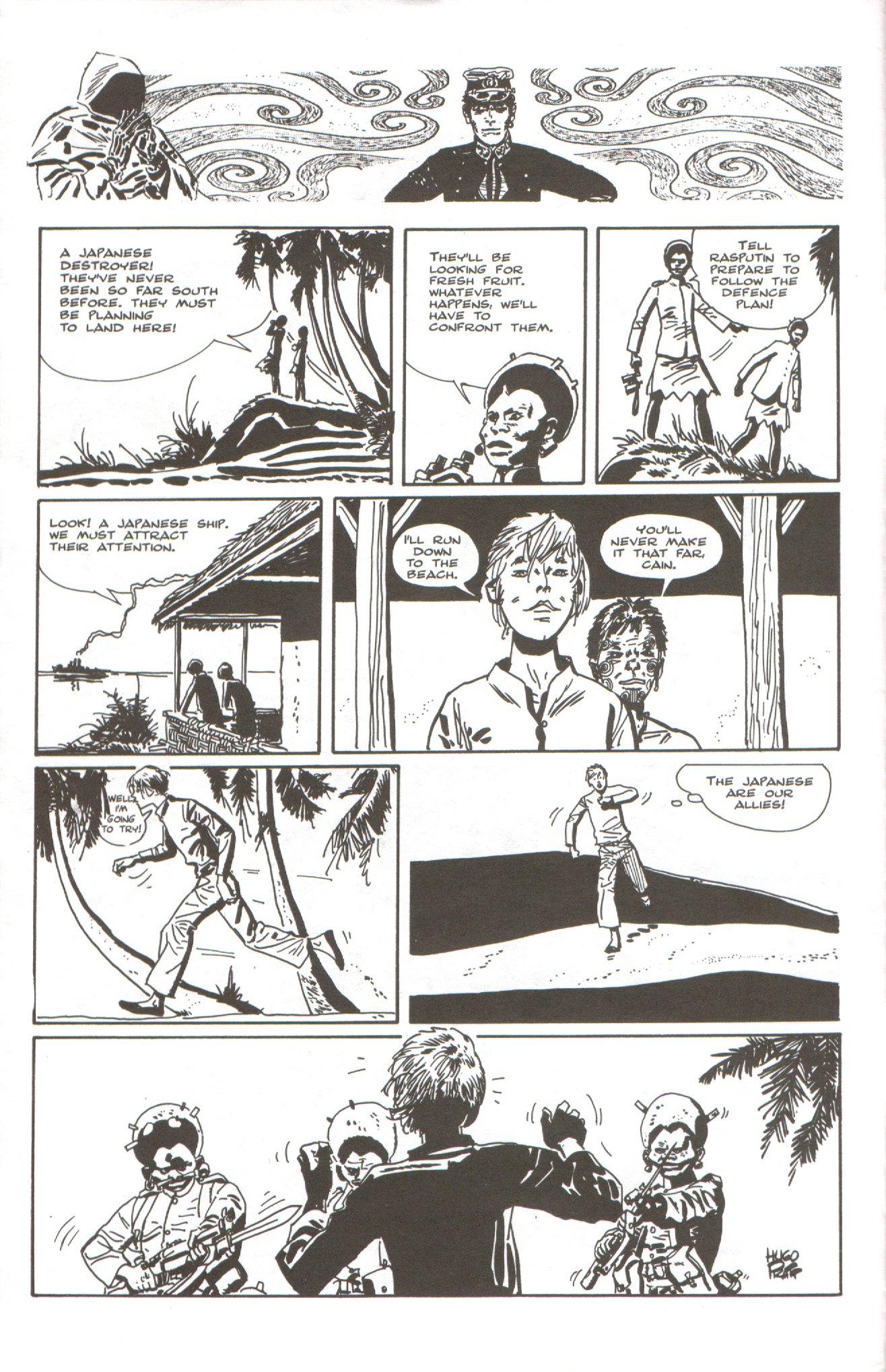Read online Corto Maltese: Ballad of the Salt Sea comic -  Issue #5 - 4