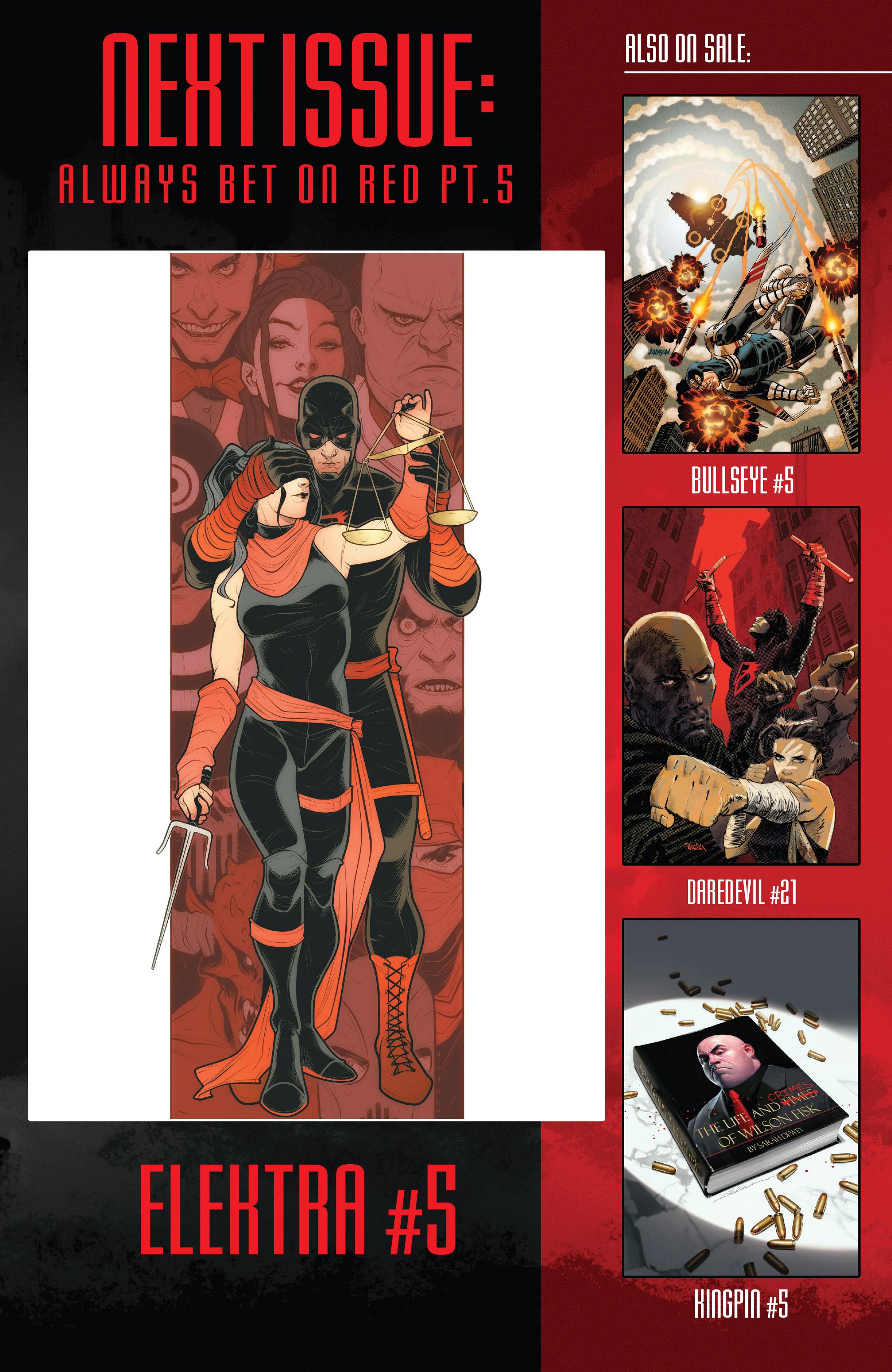 Read online Elektra (2017) comic -  Issue #4 - 23