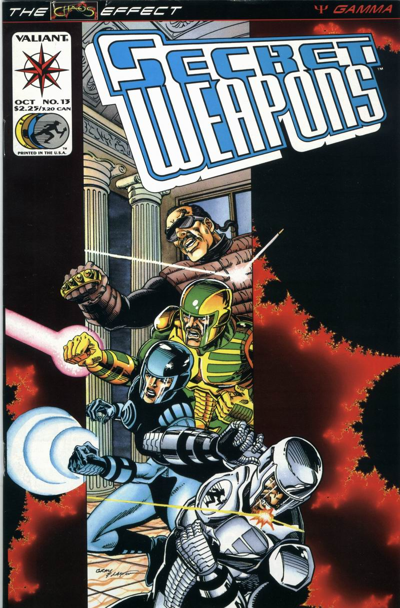 Read online Secret Weapons comic -  Issue #13 - 1