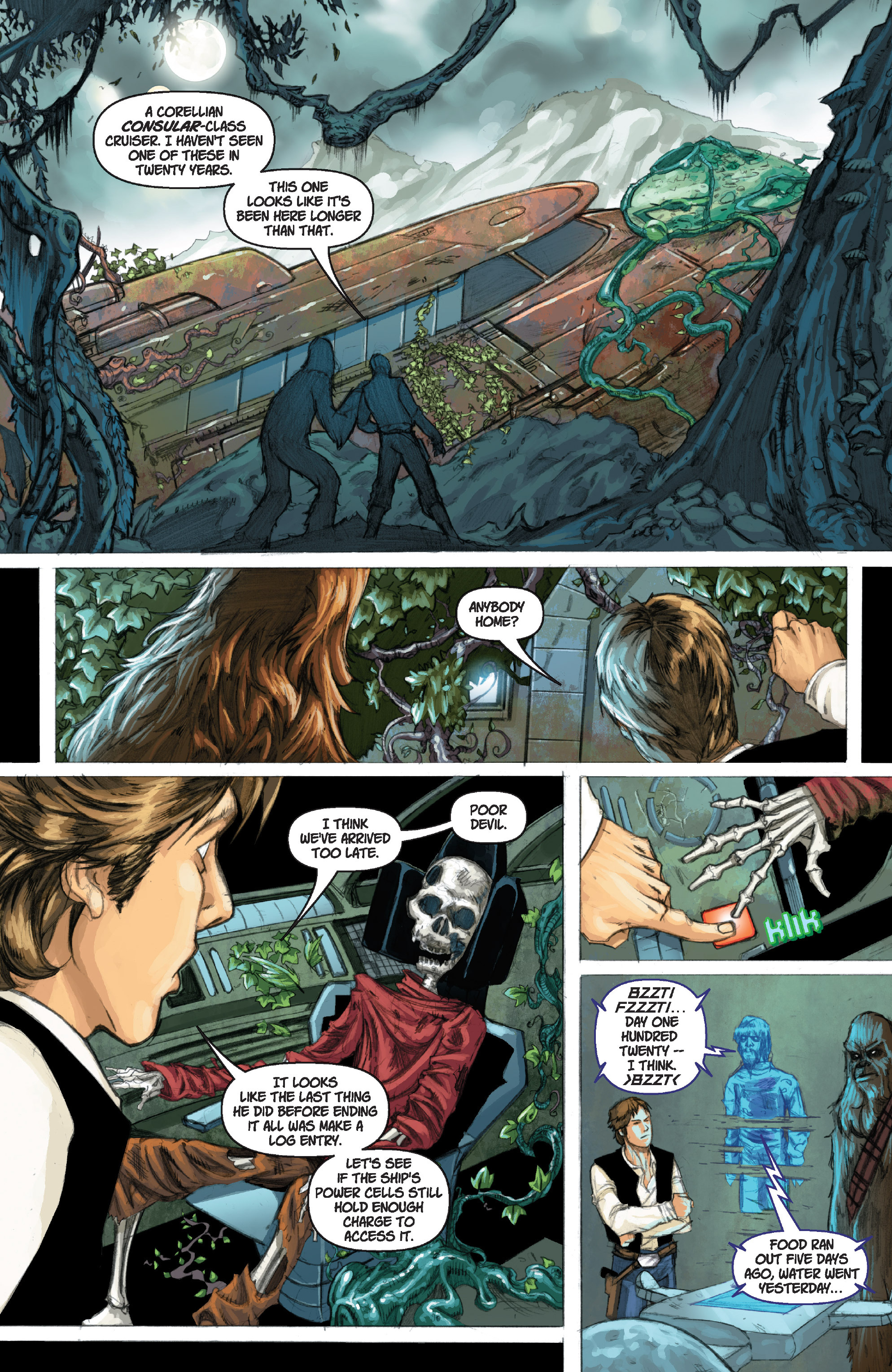 Read online Star Wars Omnibus comic -  Issue # Vol. 17 - 321