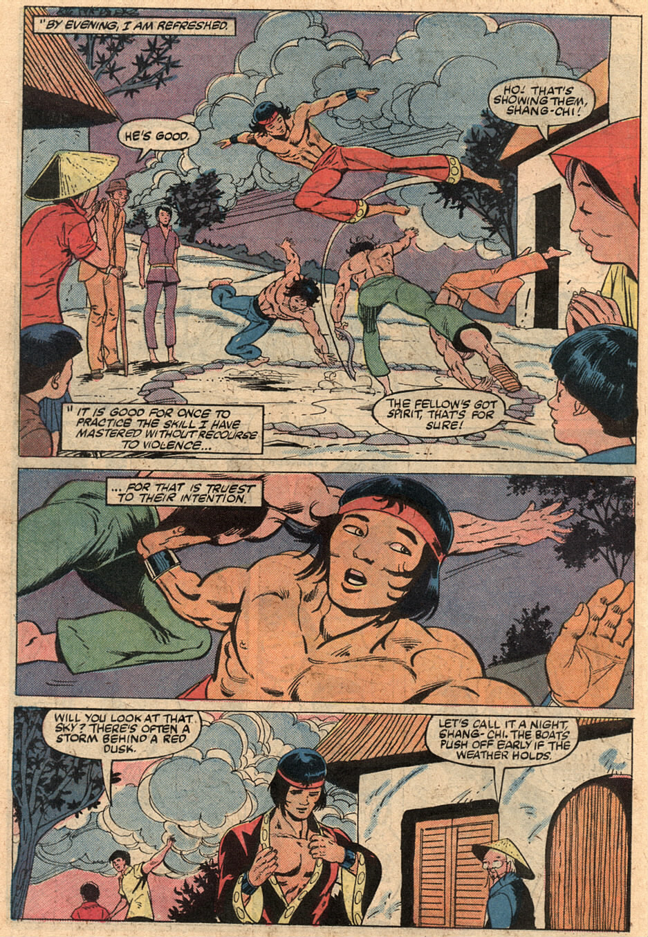 Read online Master of Kung Fu (1974) comic -  Issue #125 - 21