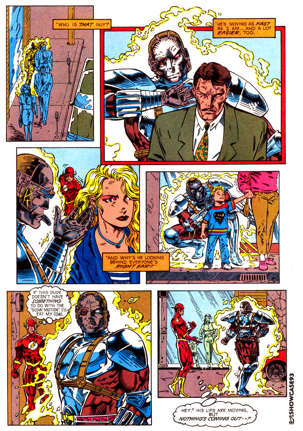 Read online Showcase '93 comic -  Issue #3 - 32