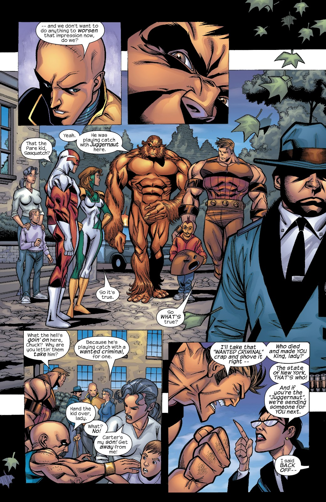 Read online X-Men: Unstoppable comic -  Issue # TPB (Part 4) - 51