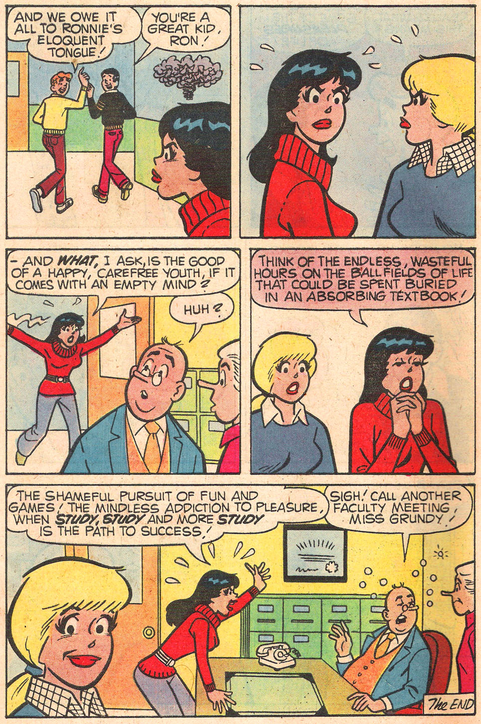 Read online Archie's Girls Betty and Veronica comic -  Issue #289 - 8