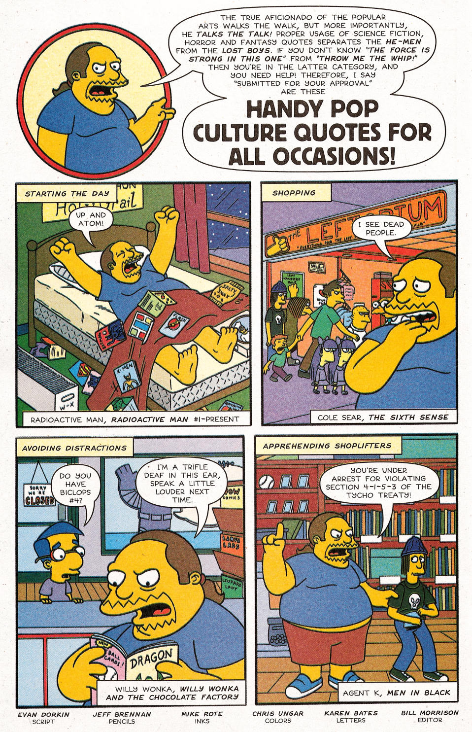 Read online Simpsons Comics Presents Bart Simpson comic -  Issue #31 - 20