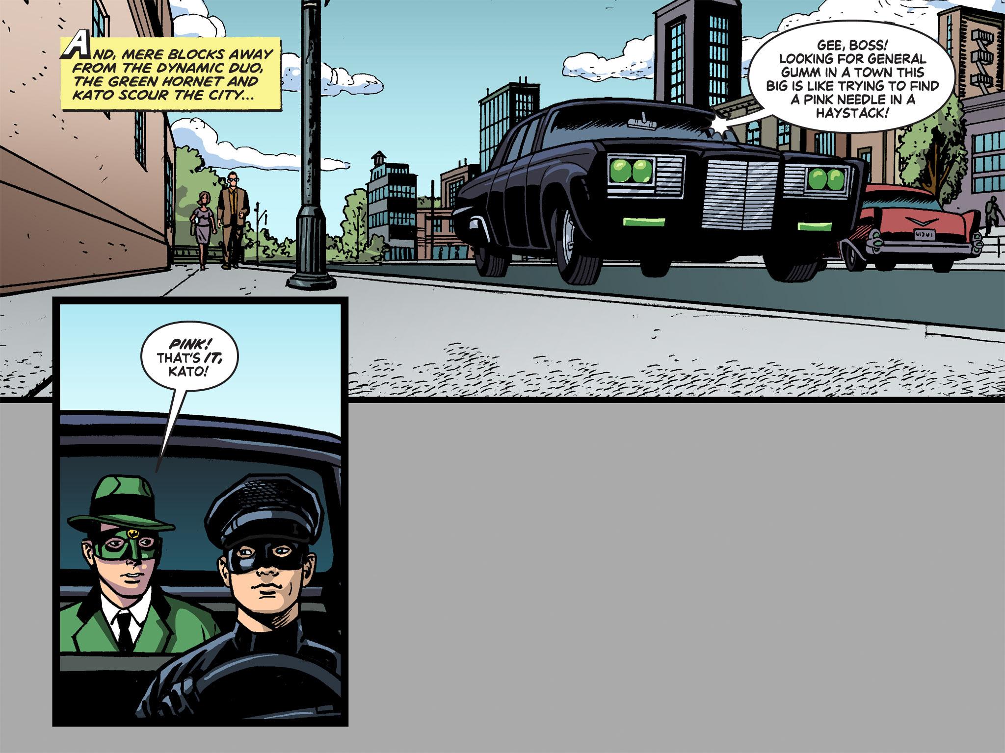 Read online Batman '66 Meets the Green Hornet [II] comic -  Issue #4 - 76