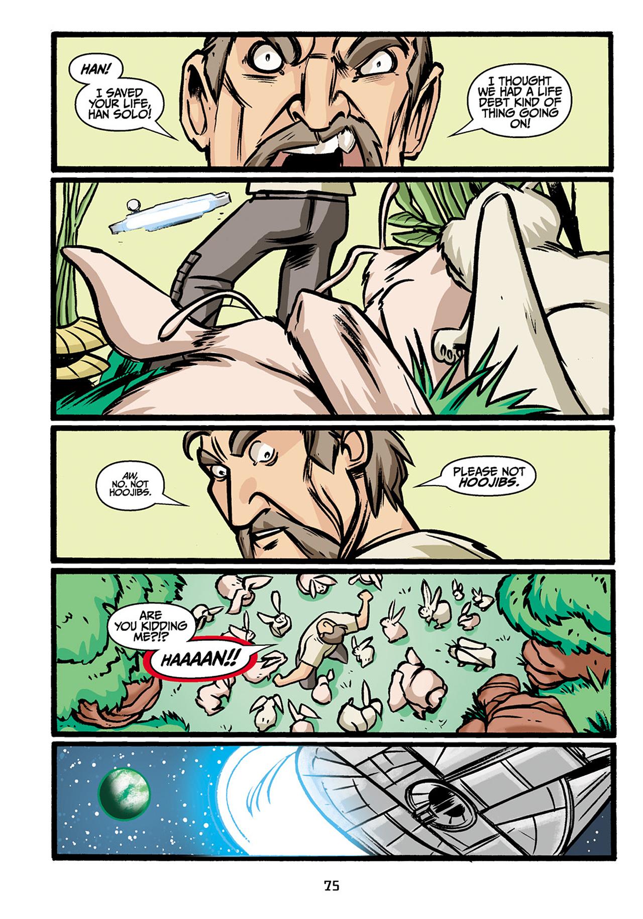 Read online Star Wars Omnibus comic -  Issue # Vol. 33 - 77