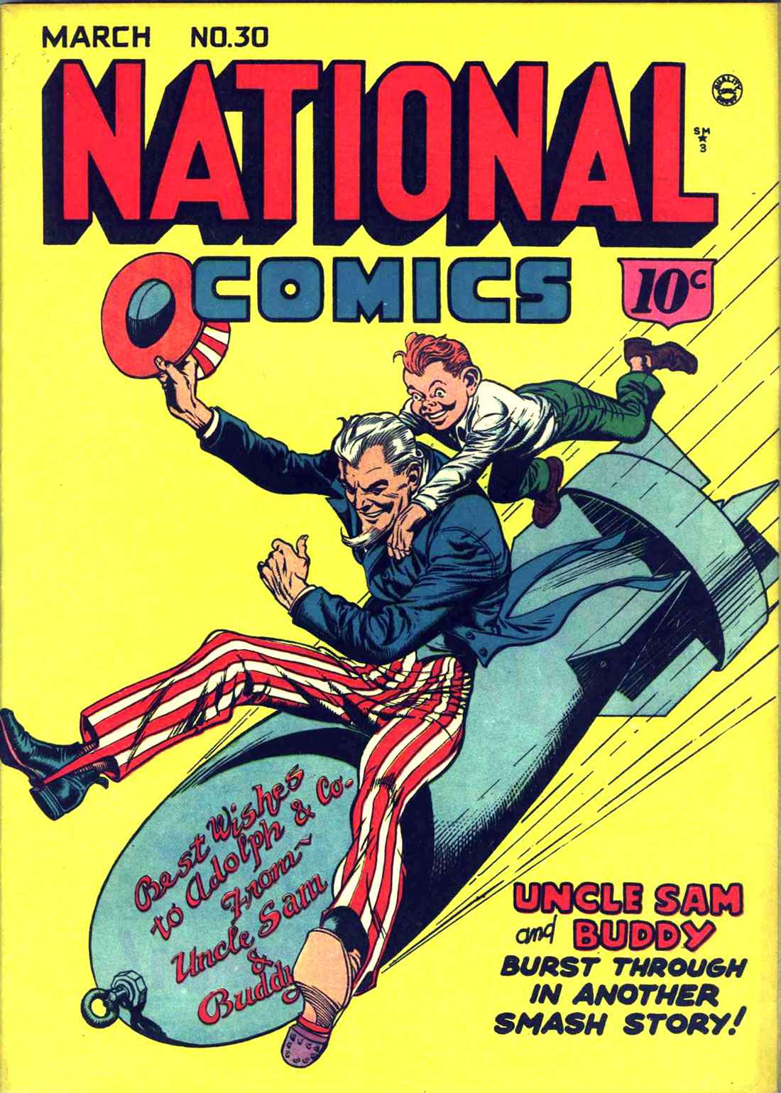 National Comics (1940) issue 30 - Page 1