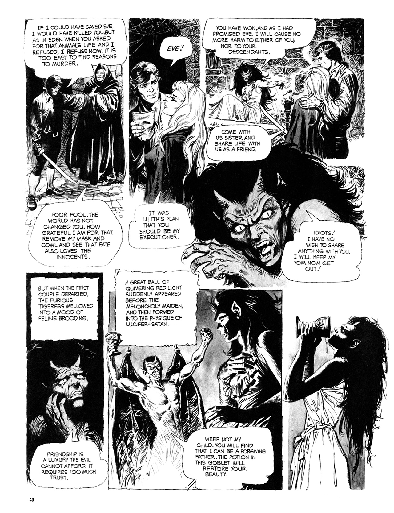 Read online Eerie Archives comic -  Issue # TPB 10 - 41