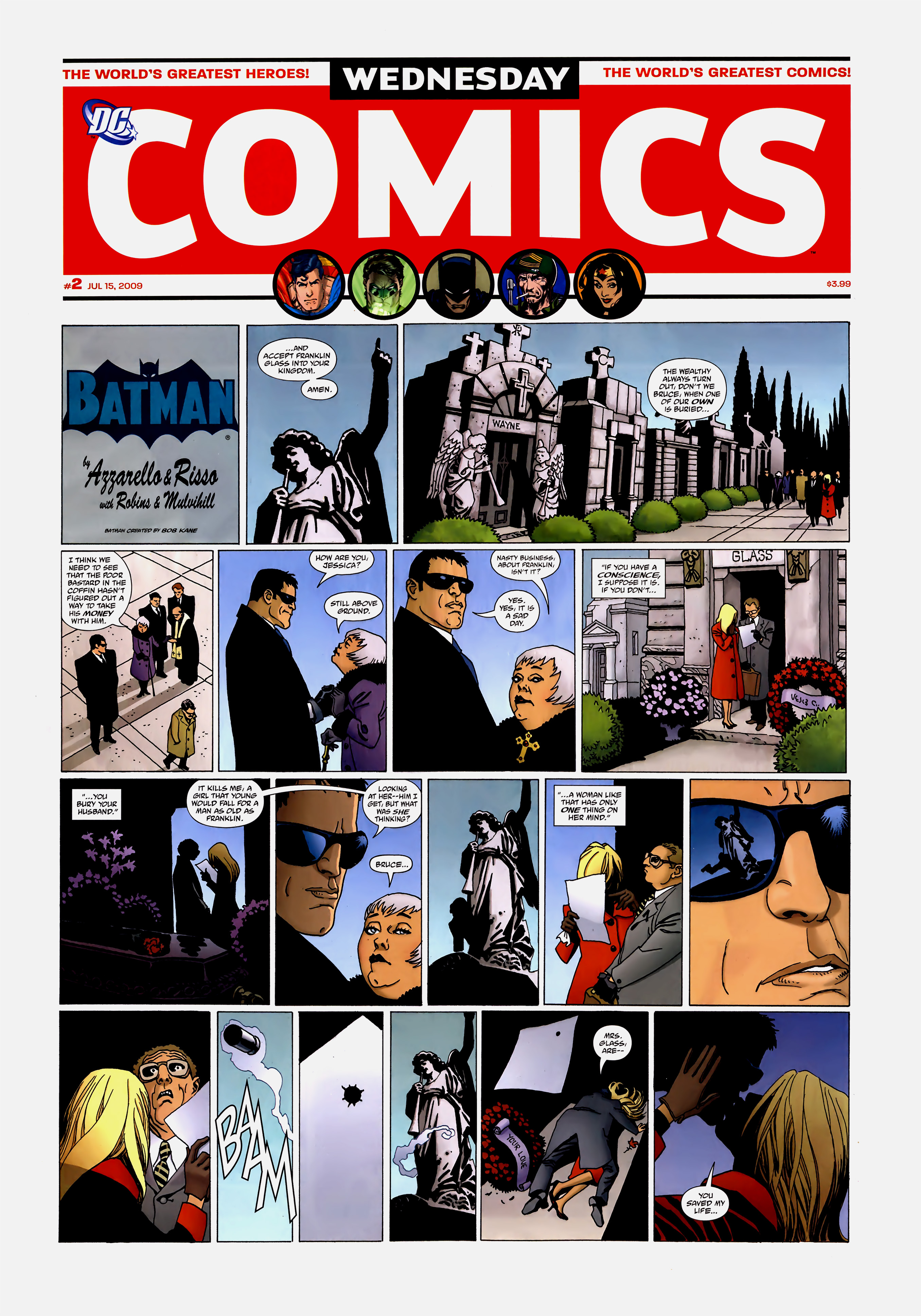 Read online Wednesday Comics comic -  Issue #2 - 2