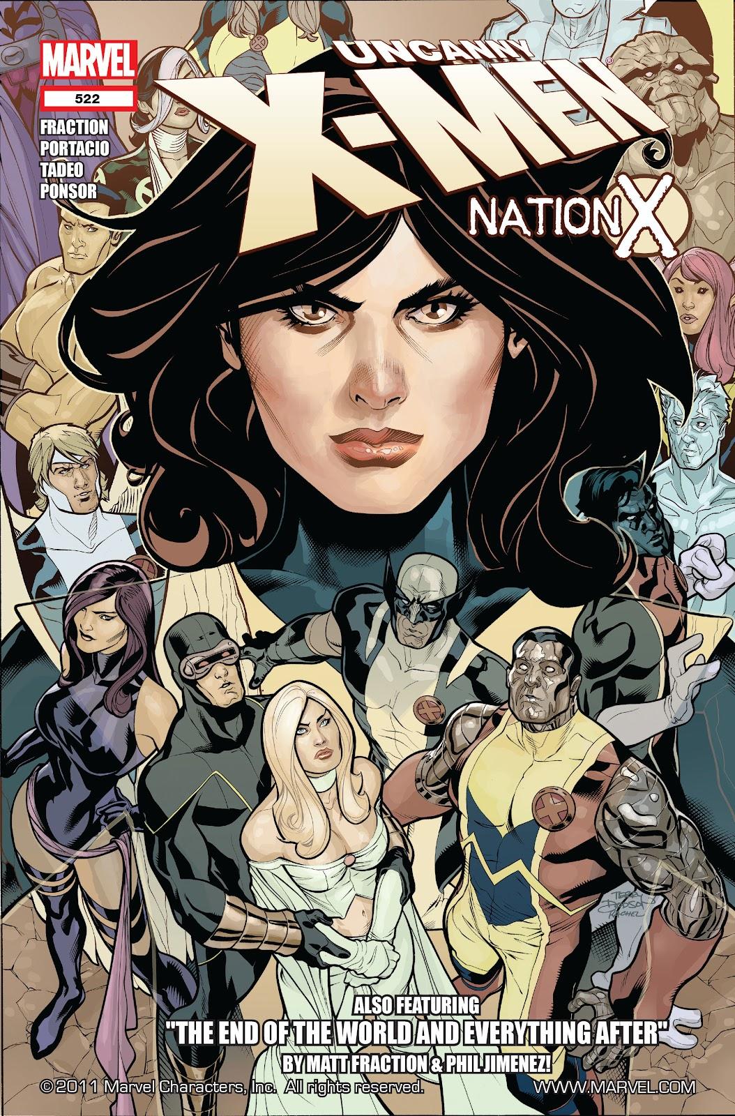 Uncanny X-Men (1963) 522 Page 1