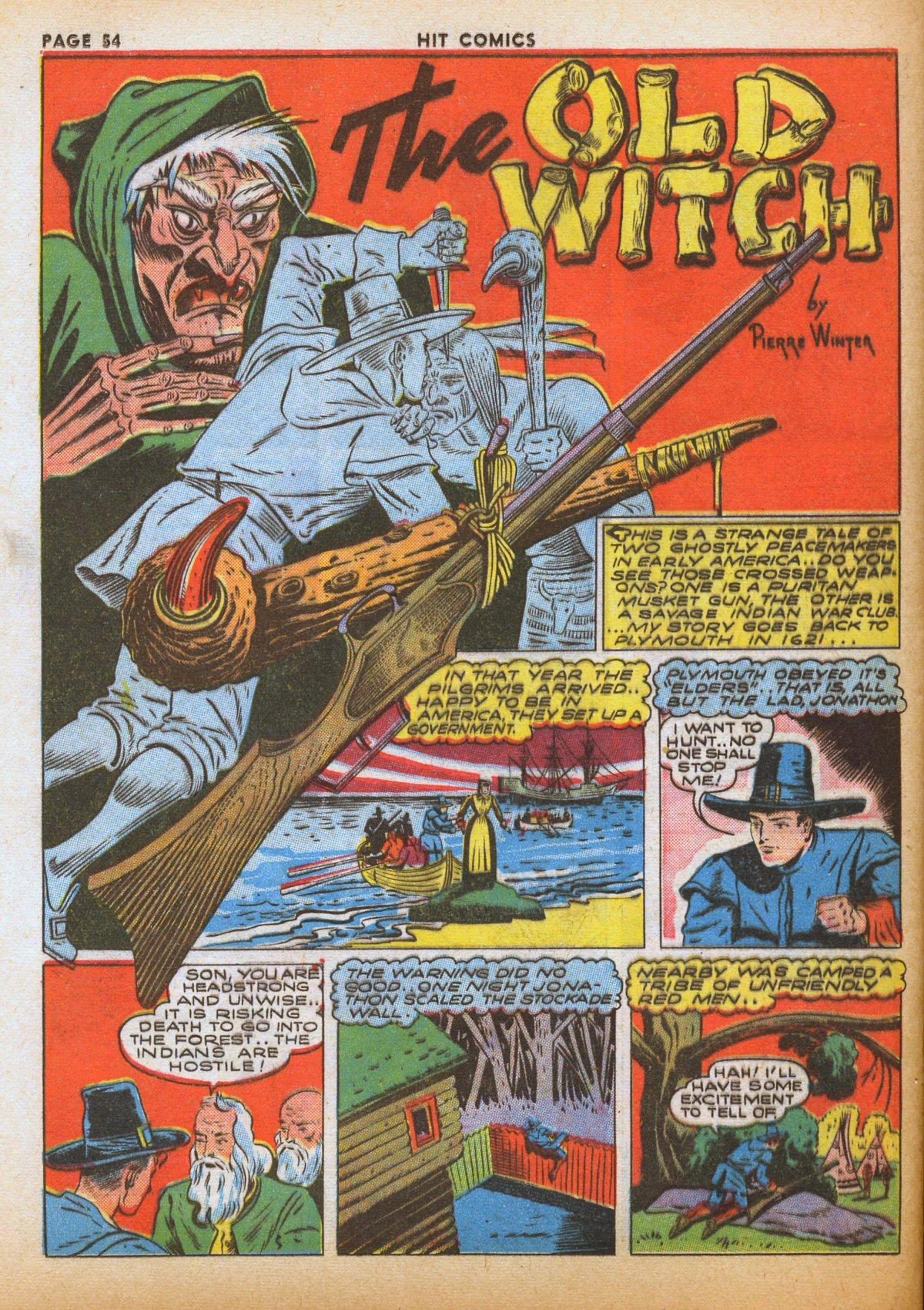 Read online Hit Comics comic -  Issue #12 - 56