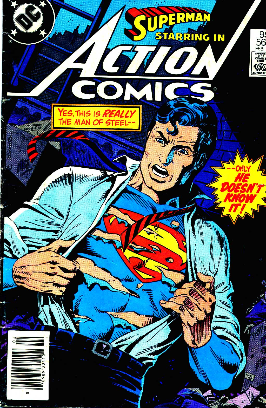 Read online Action Comics (1938) comic -  Issue #564 - 1