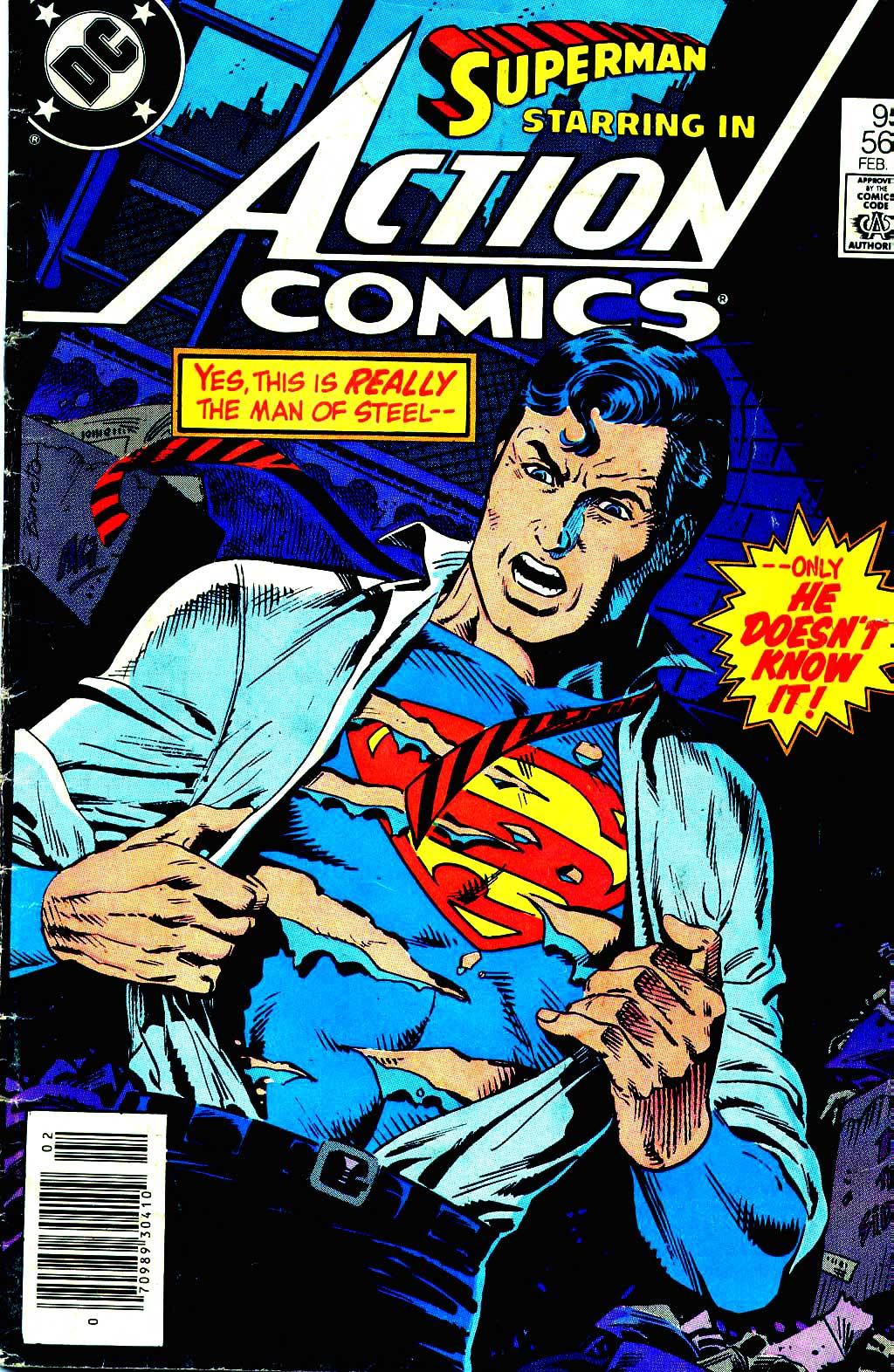 Action Comics (1938) 564 Page 1