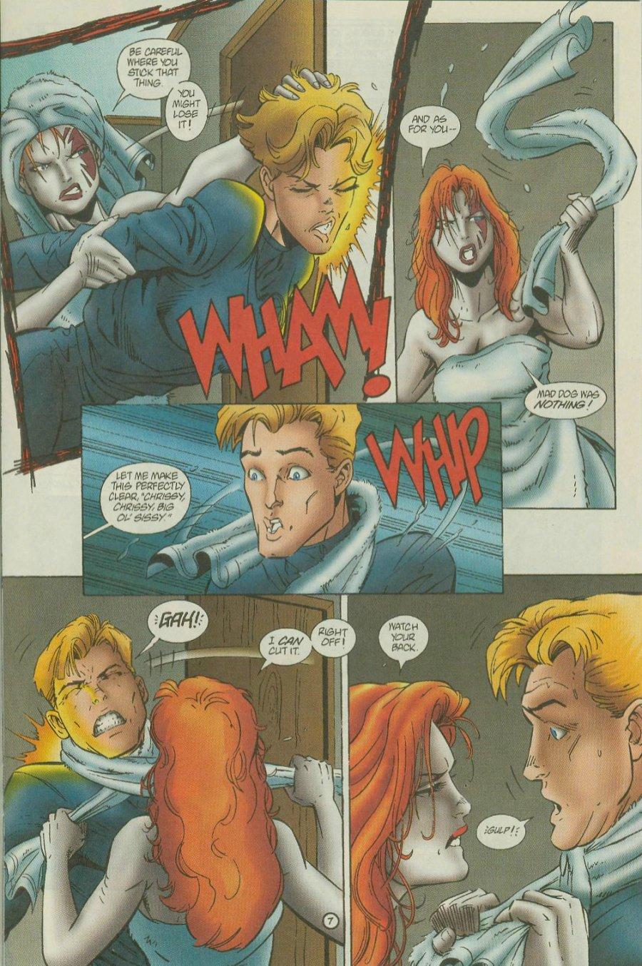 Read online Siren comic -  Issue #1 - 9