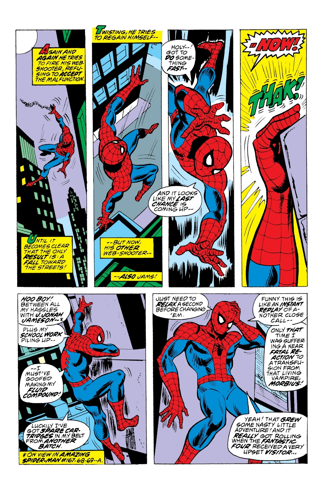Read online Marvel Masterworks: The Spectacular Spider-Man comic -  Issue # TPB (Part 1) - 100
