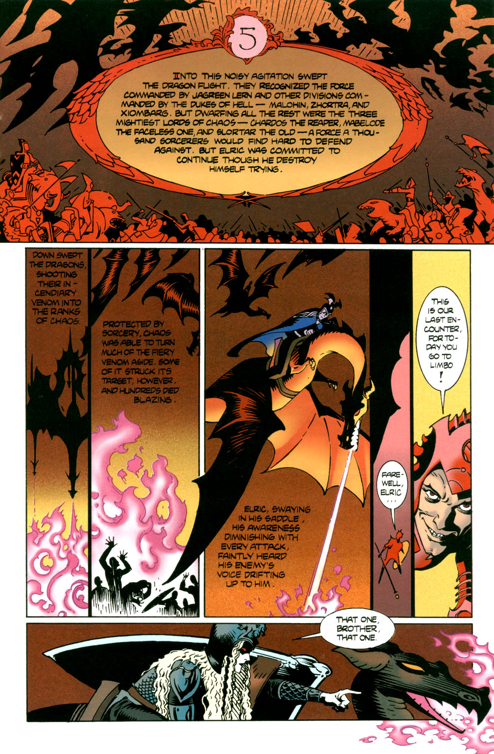 Read online Elric: Stormbringer comic -  Issue #7 - 3