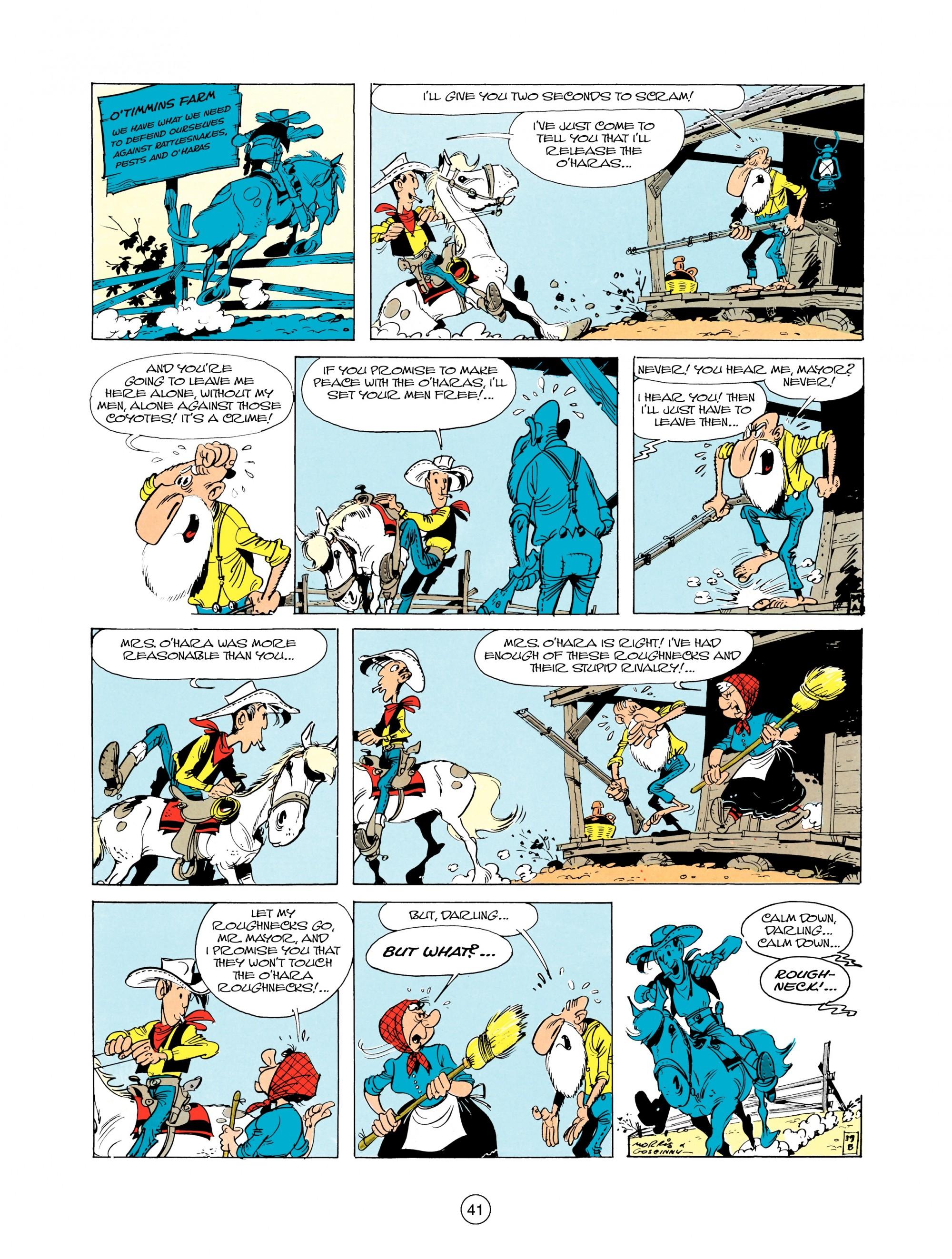 Read online A Lucky Luke Adventure comic -  Issue #12 - 41