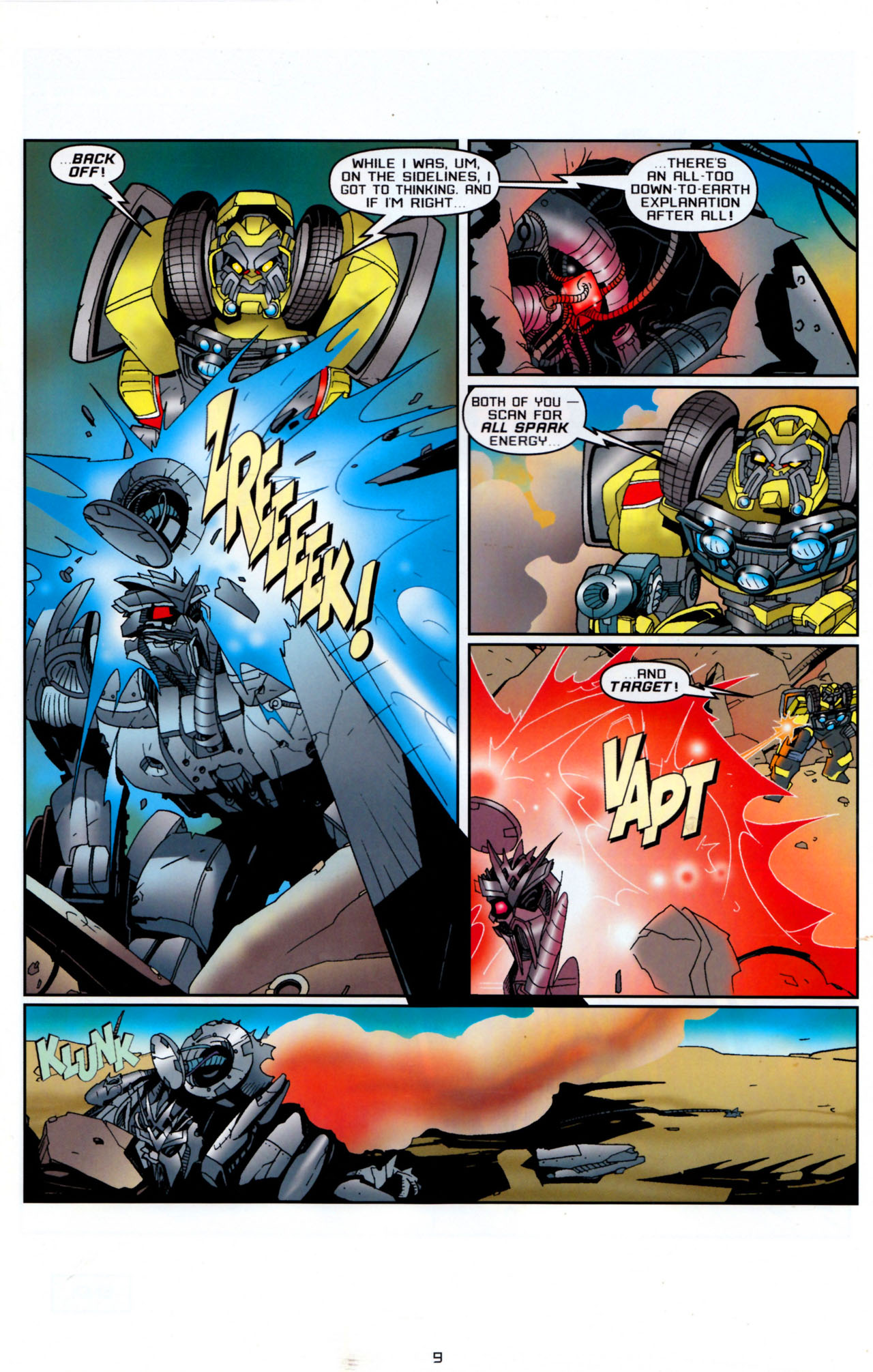 Read online Transformers: Saga of the Allspark comic -  Issue #4 - 12