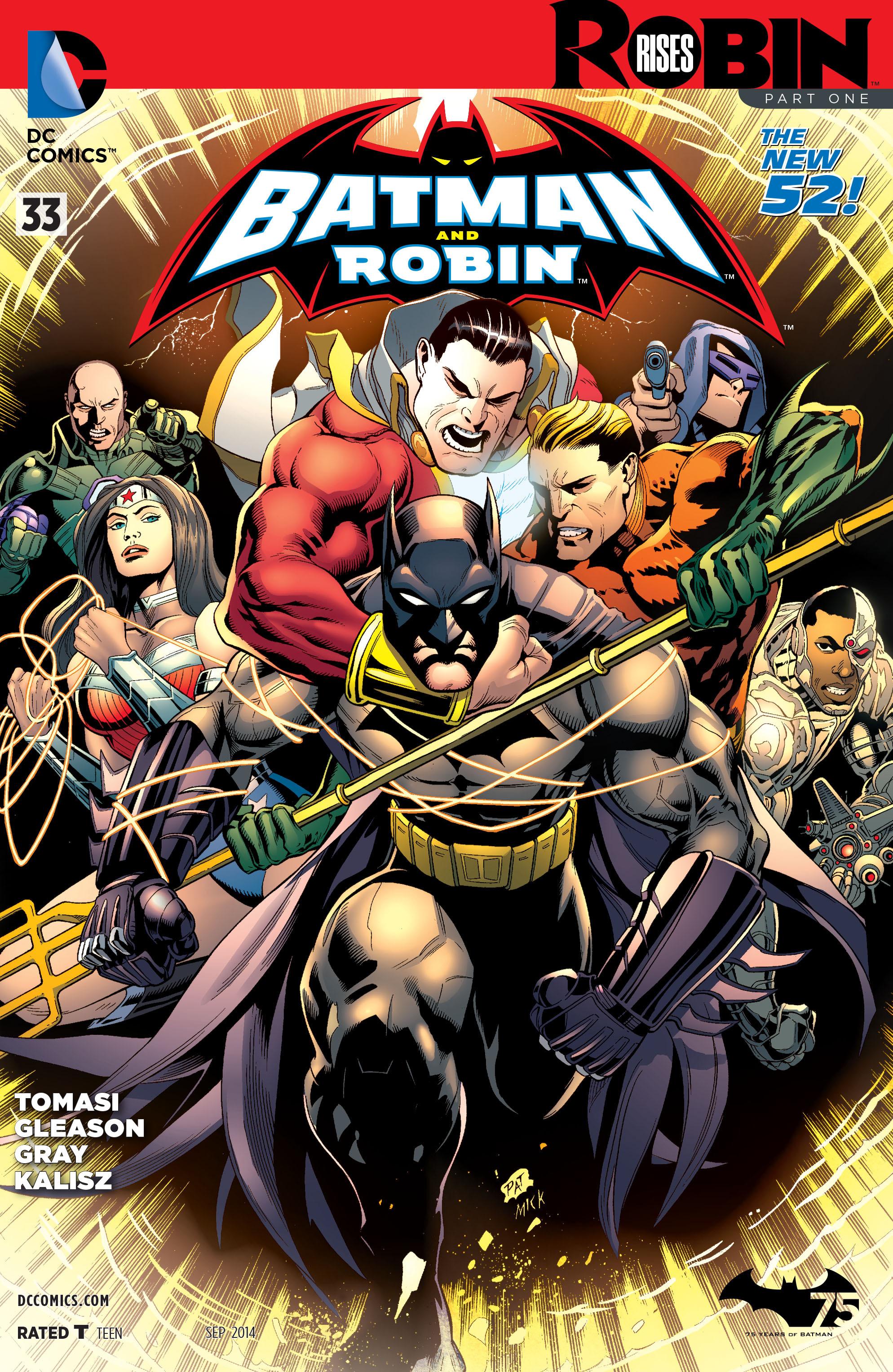 Batman and Robin (2011) 33 Page 1