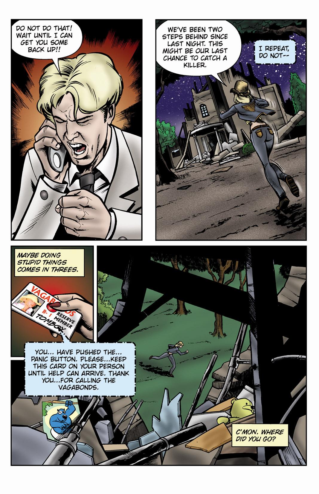 Read online SideChicks comic -  Issue #3 - 24