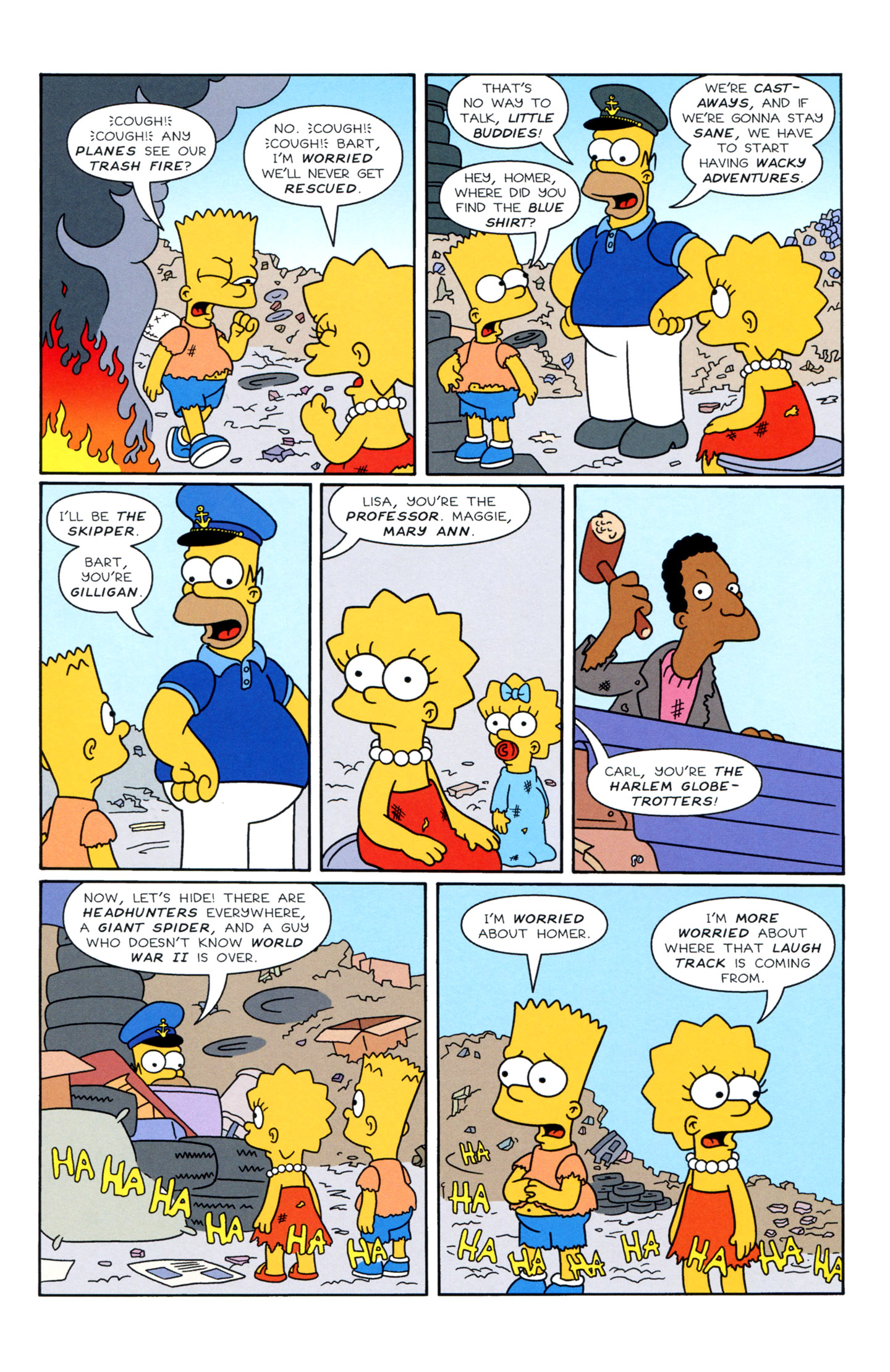 Read online Simpsons Illustrated (1991) comic -  Issue #3 - 16