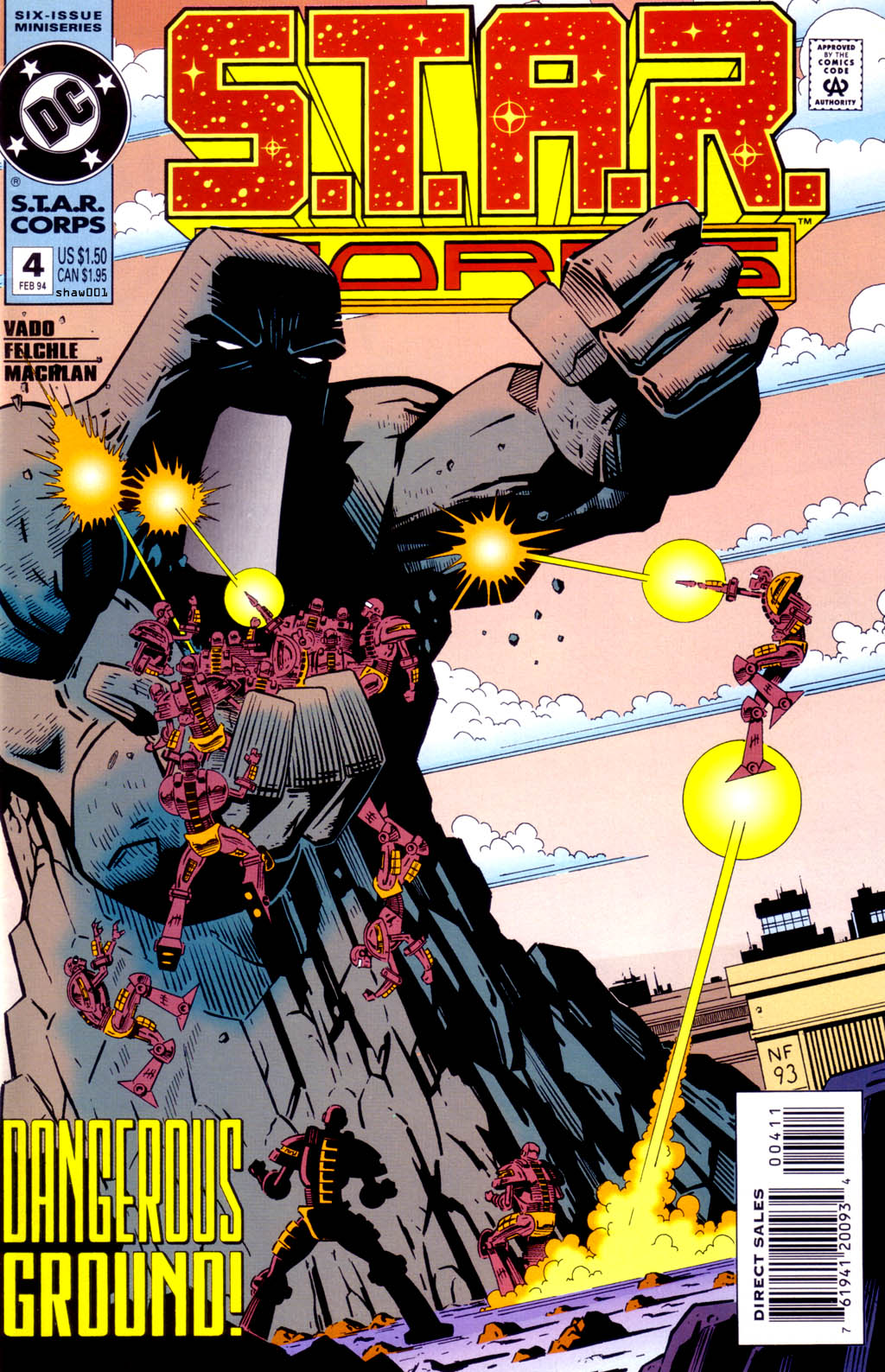 Read online S.T.A.R. Corps comic -  Issue #4 - 1