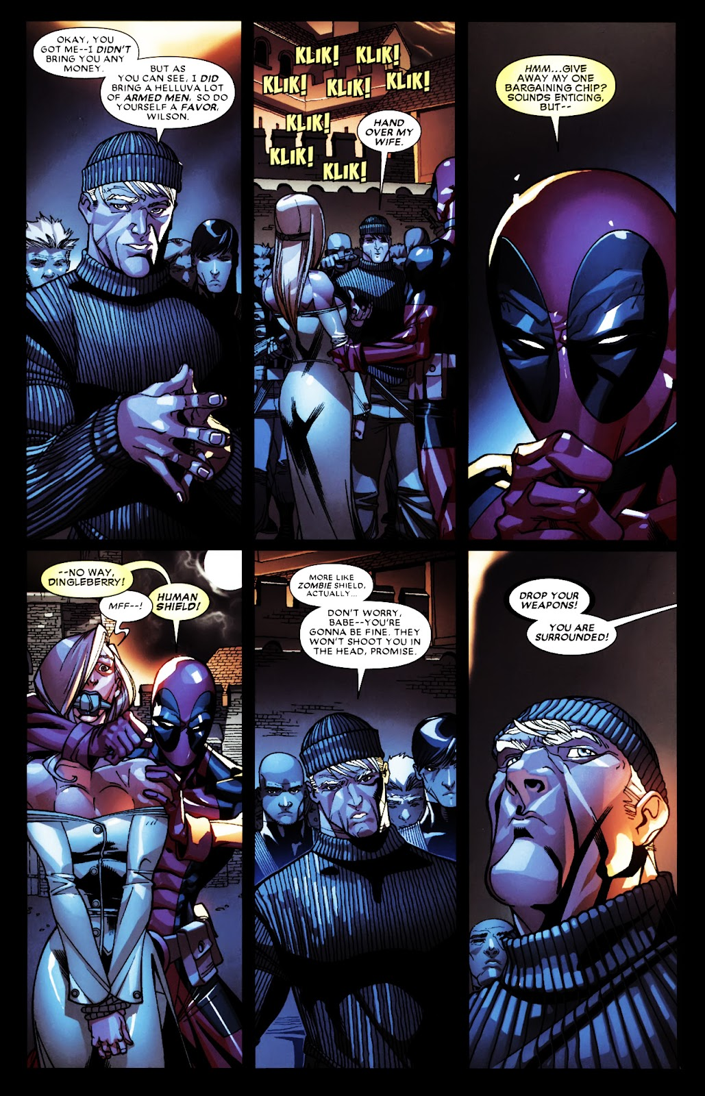 Read online Deadpool (2008) comic -  Issue #5 - 11