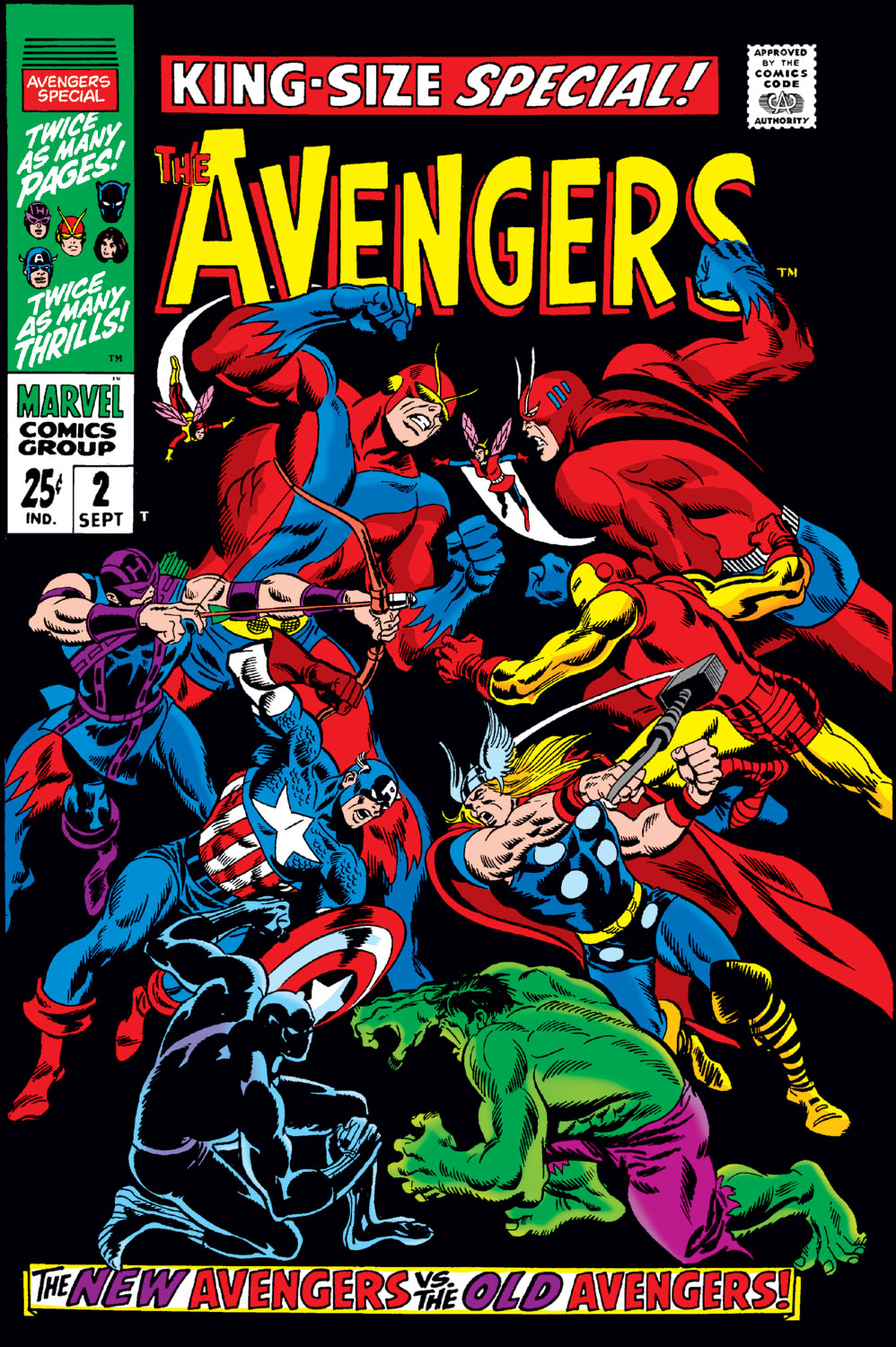 The Avengers (1963) issue _Annual_2 - Page 1