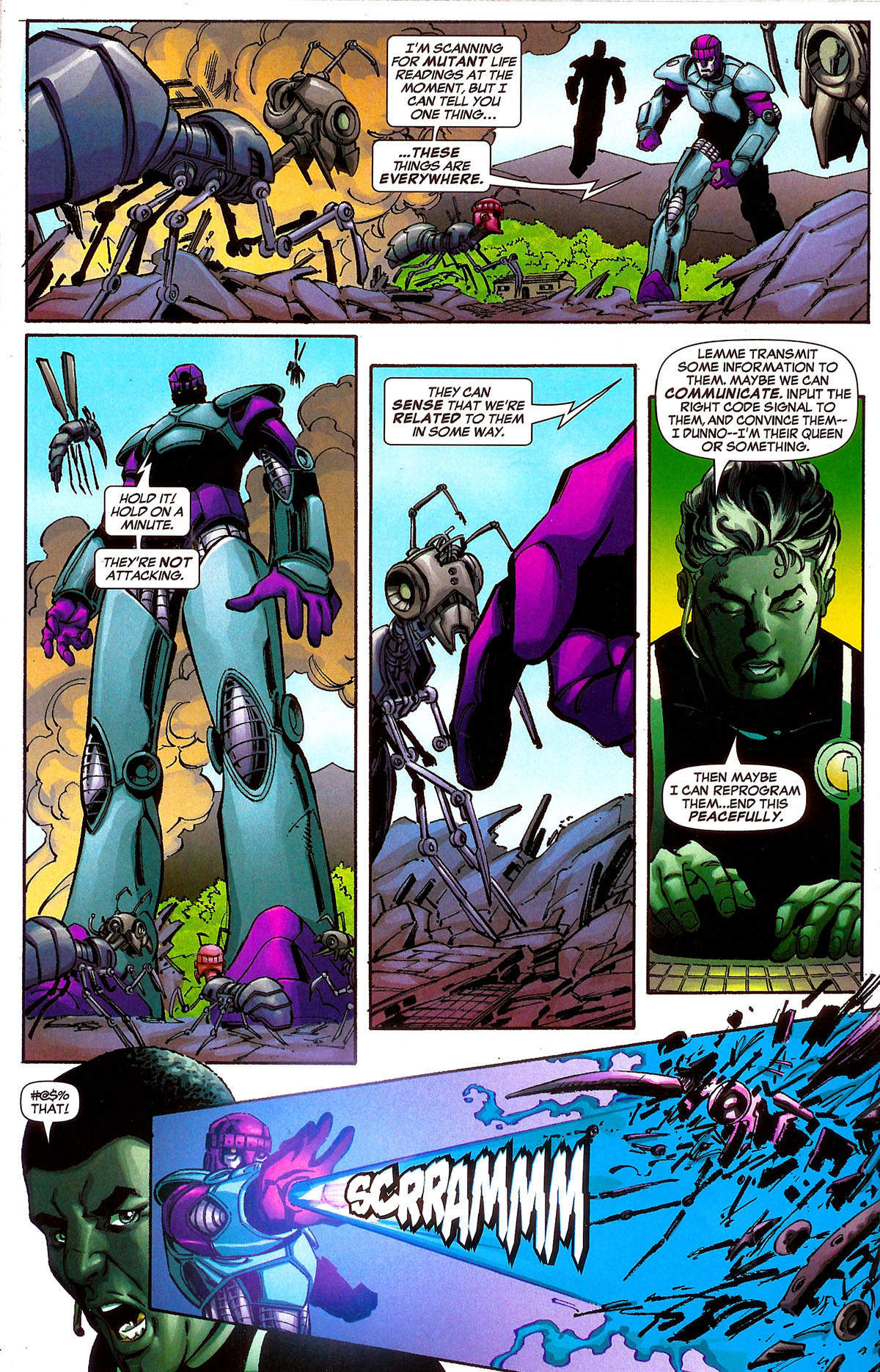 Read online Sentinel Squad O*N*E comic -  Issue #5 - 10