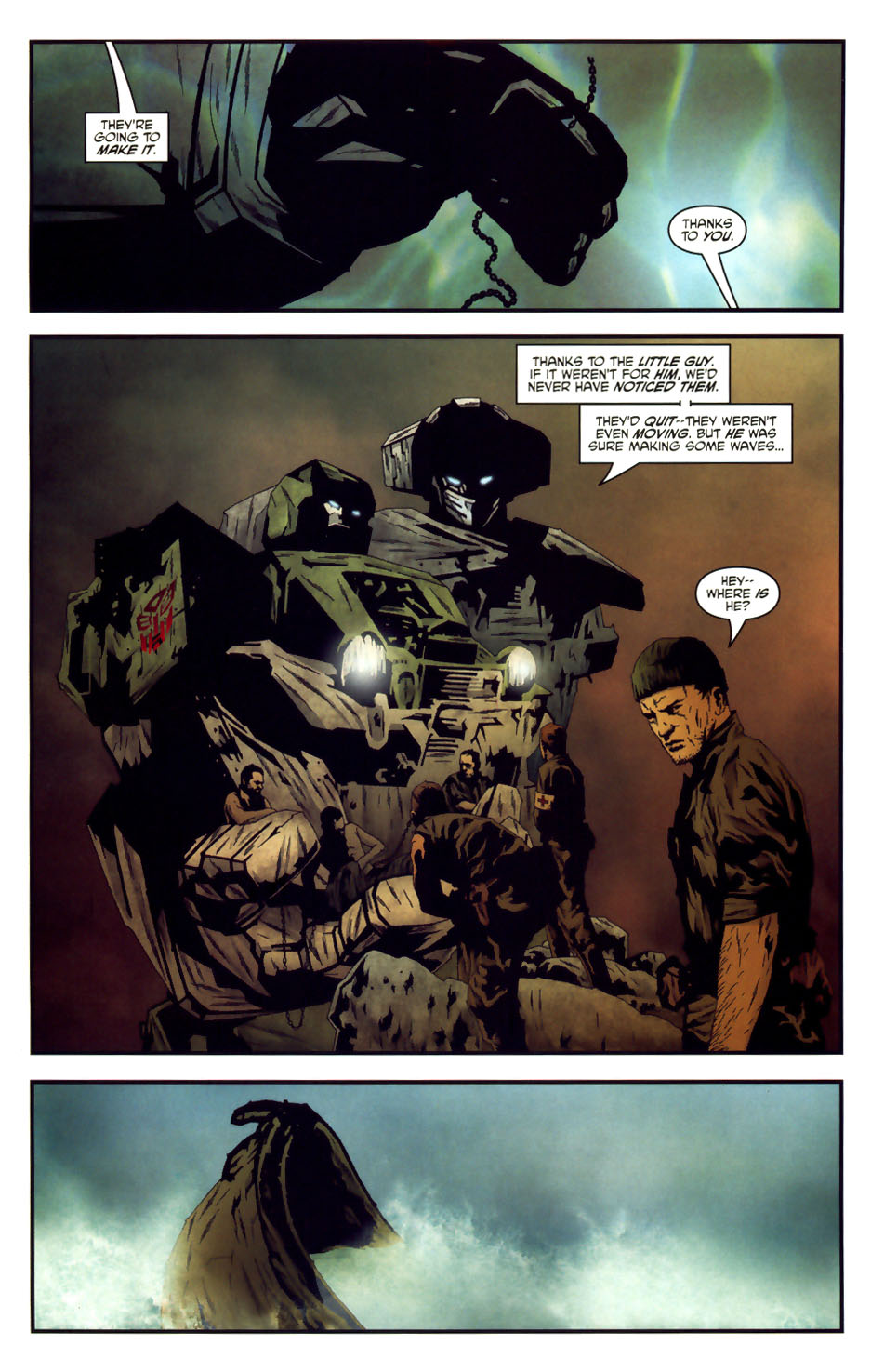 Read online Transformers/G.I. Joe comic -  Issue #6 - 6