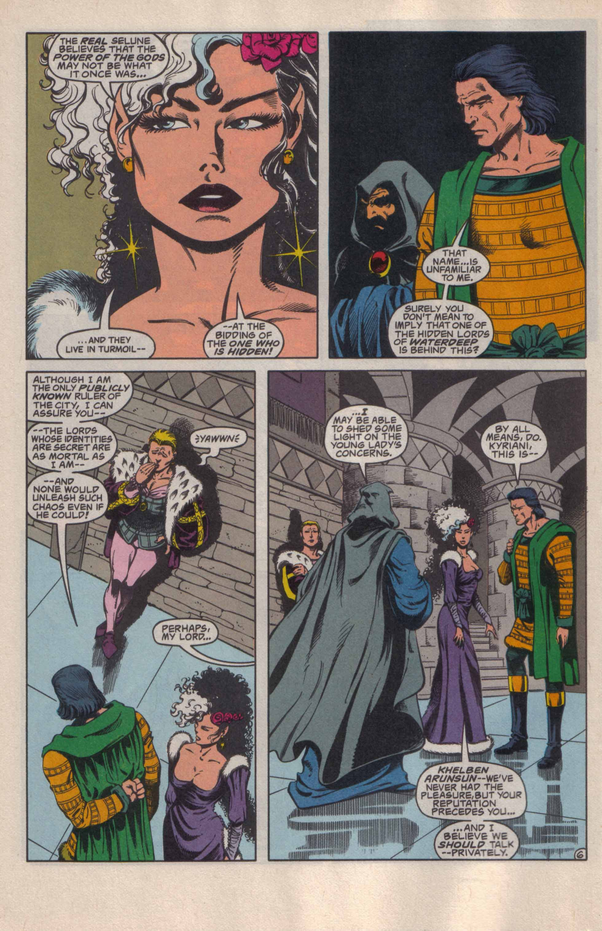 Read online Advanced Dungeons & Dragons comic -  Issue #20 - 7