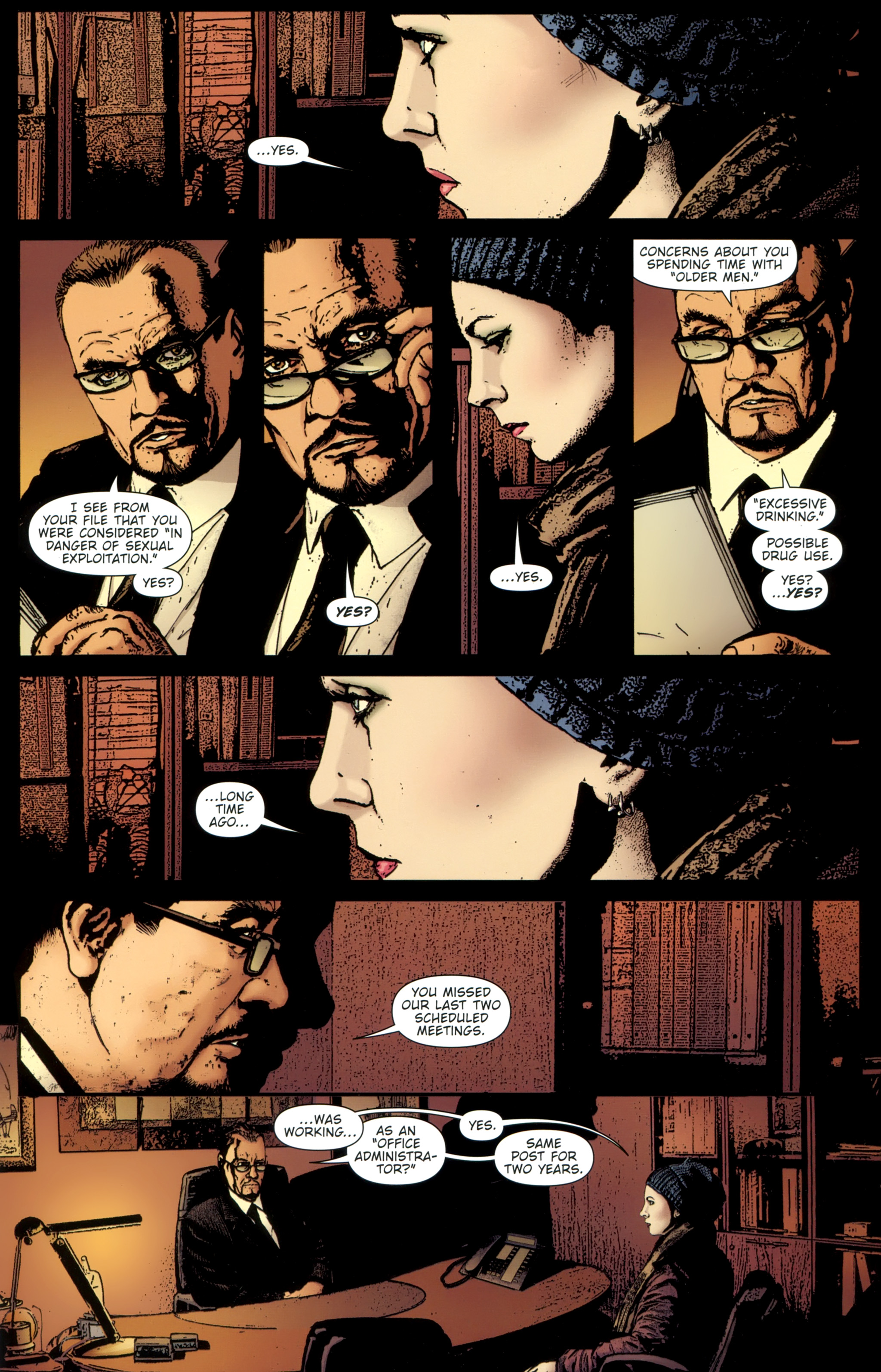 Read online The Girl With the Dragon Tattoo comic -  Issue # TPB 1 - 88