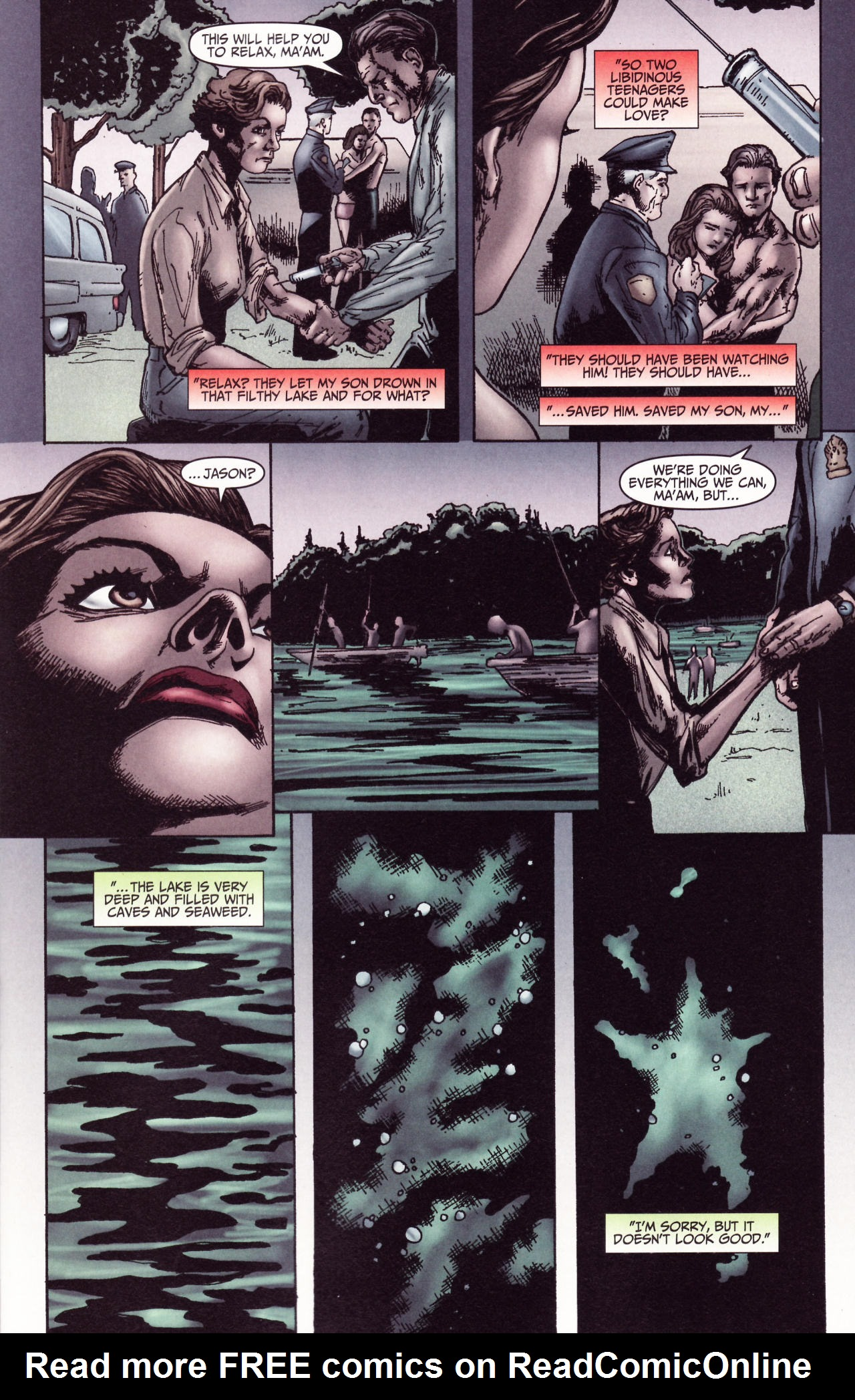 Read online Friday the 13th: Pamela's Tale comic -  Issue #2 - 22