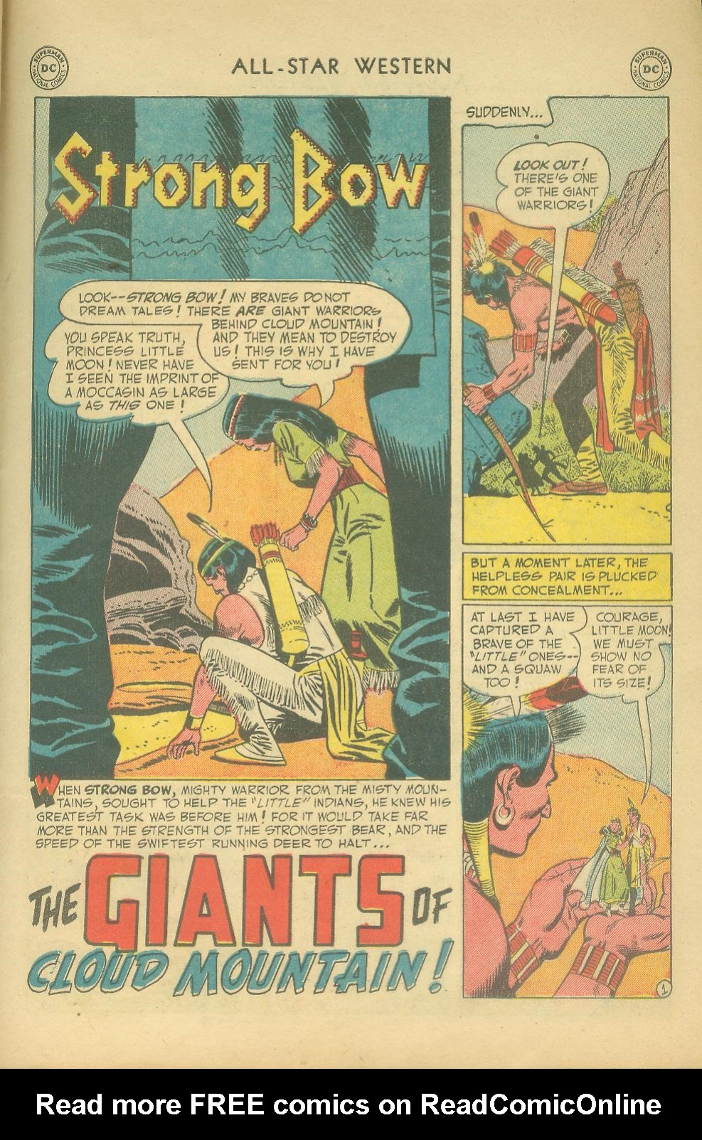 Read online All-Star Western (1951) comic -  Issue #65 - 27