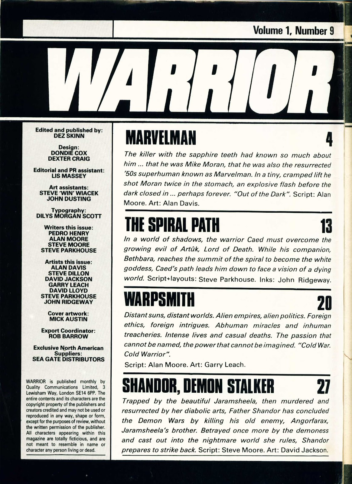 Warrior Issue #9 #10 - English 2