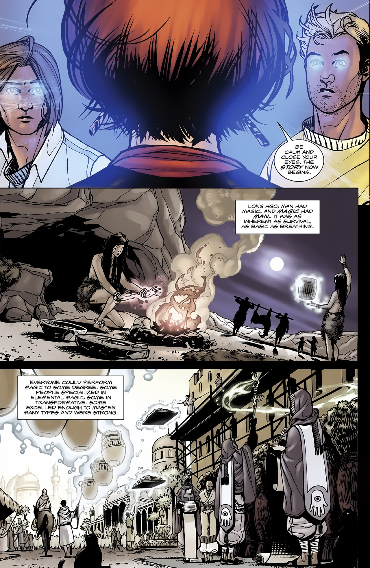 Read online Magus comic -  Issue #2 - 13