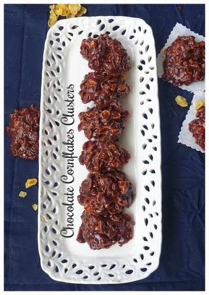 Nutty-Chocolate-Cornflakes-cluster-Recipe-veg-spicy