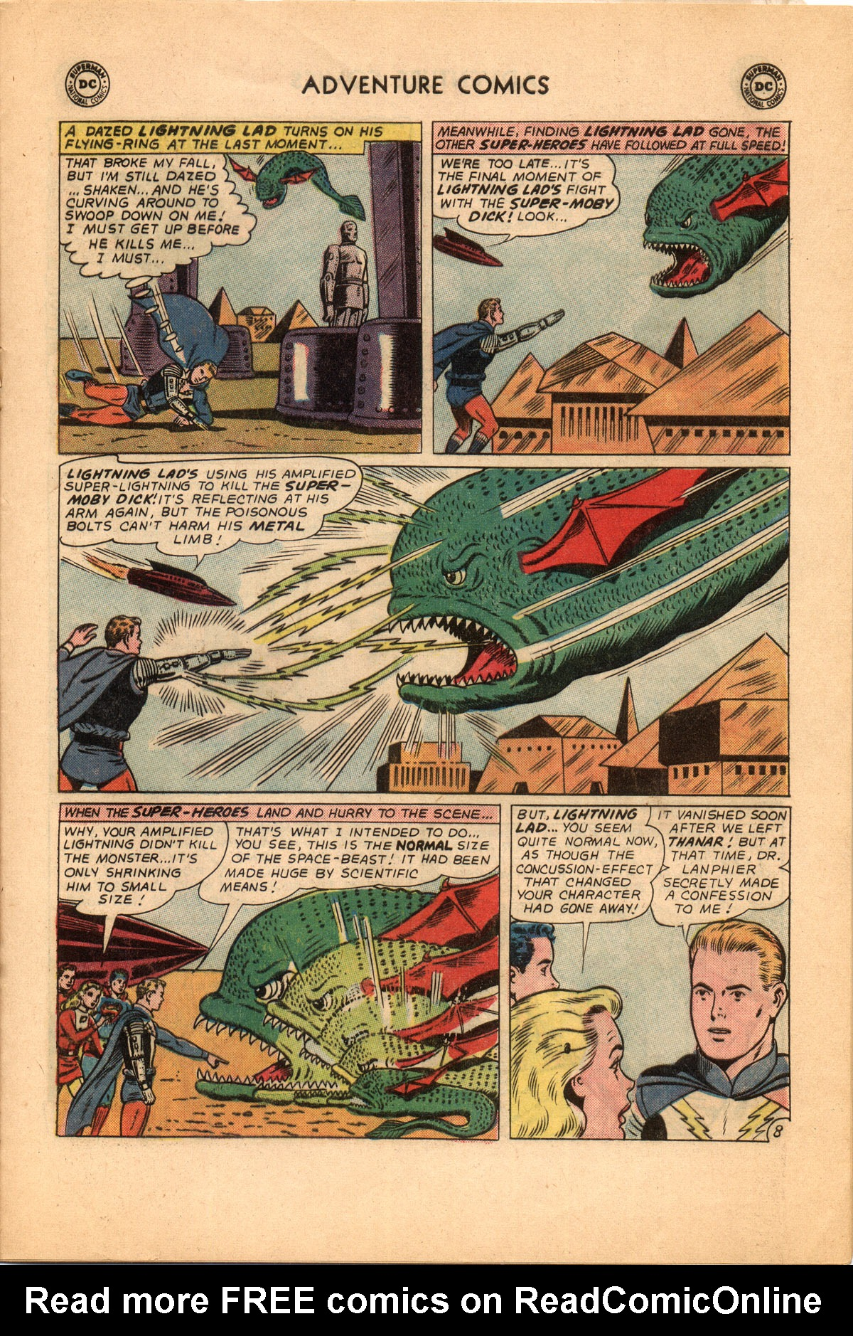 Read online Adventure Comics (1938) comic -  Issue #332 - 21