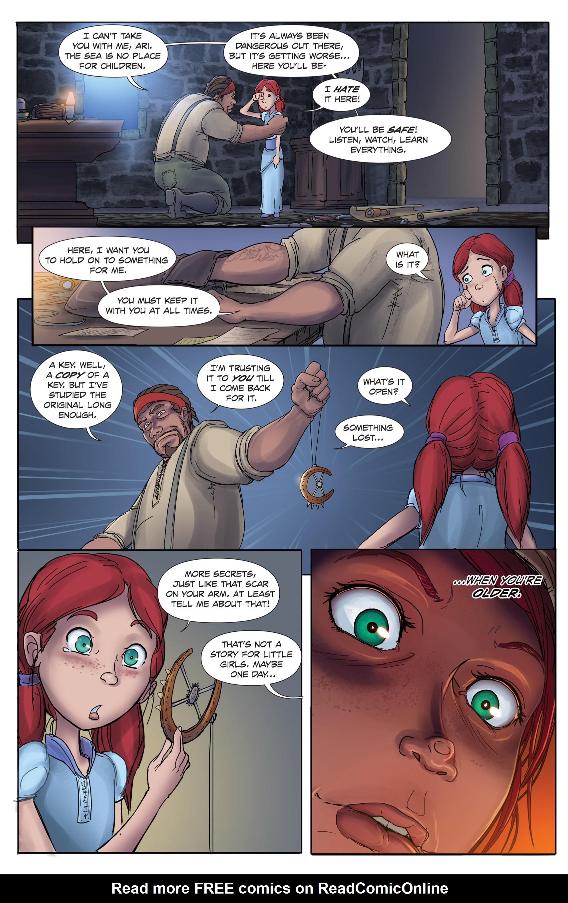 Read online Anne Bonnie comic -  Issue #1 - 10