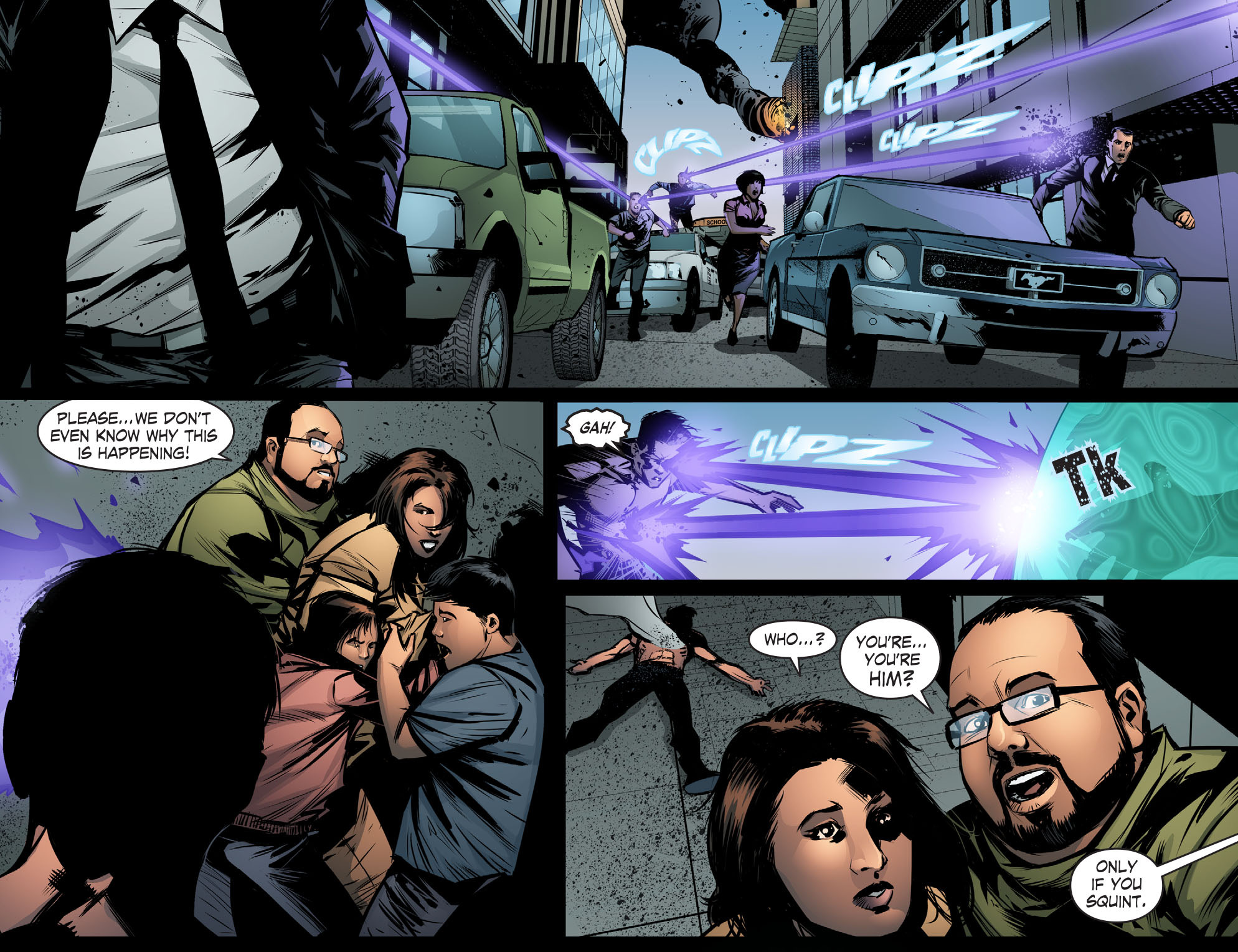 Read online Smallville: Chaos [II] comic -  Issue #7 - 17