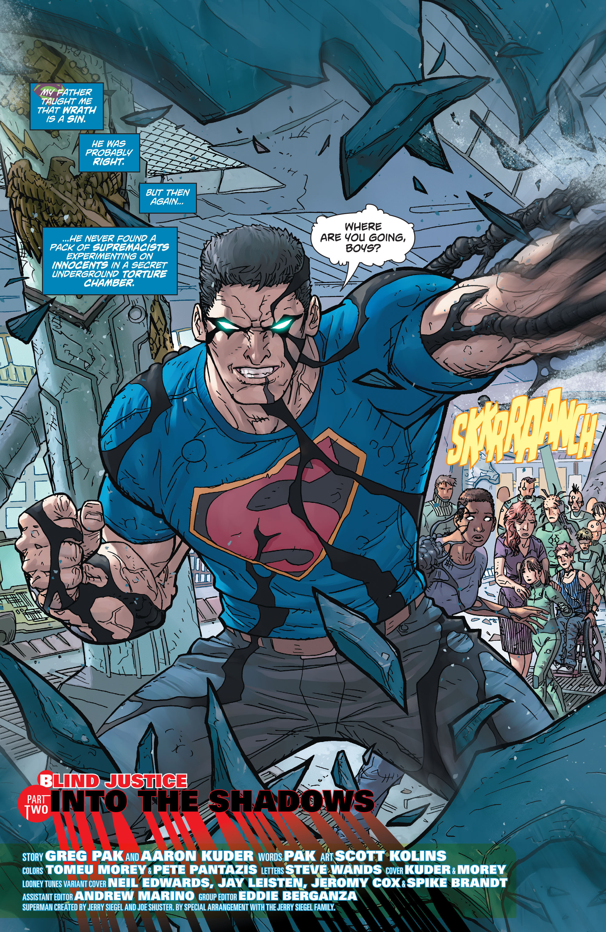 Read online Action Comics (2011) comic -  Issue #46 - 4