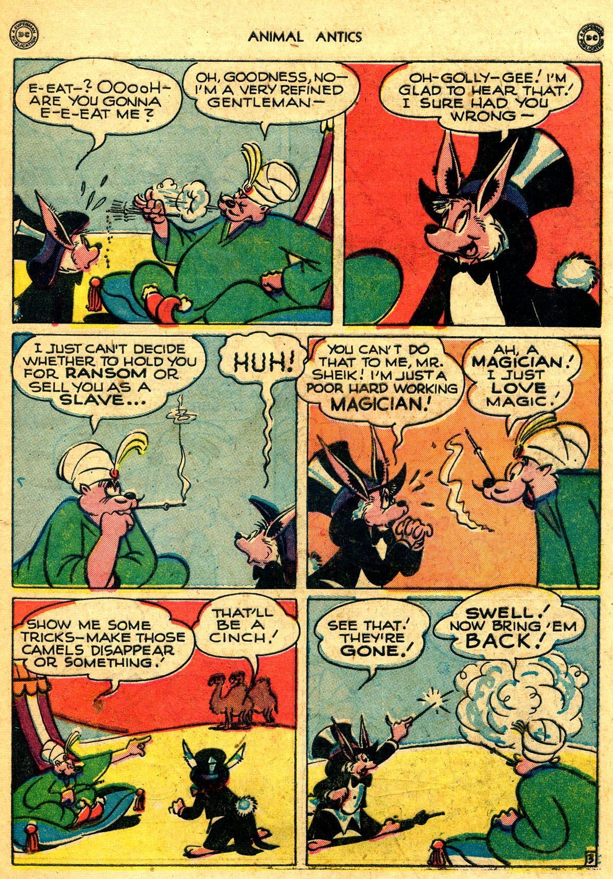 Read online Animal Antics comic -  Issue #8 - 43