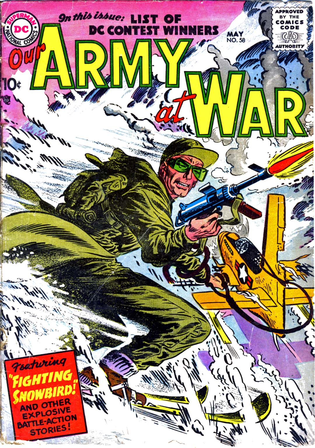 Our Army at War (1952) issue 58 - Page 1