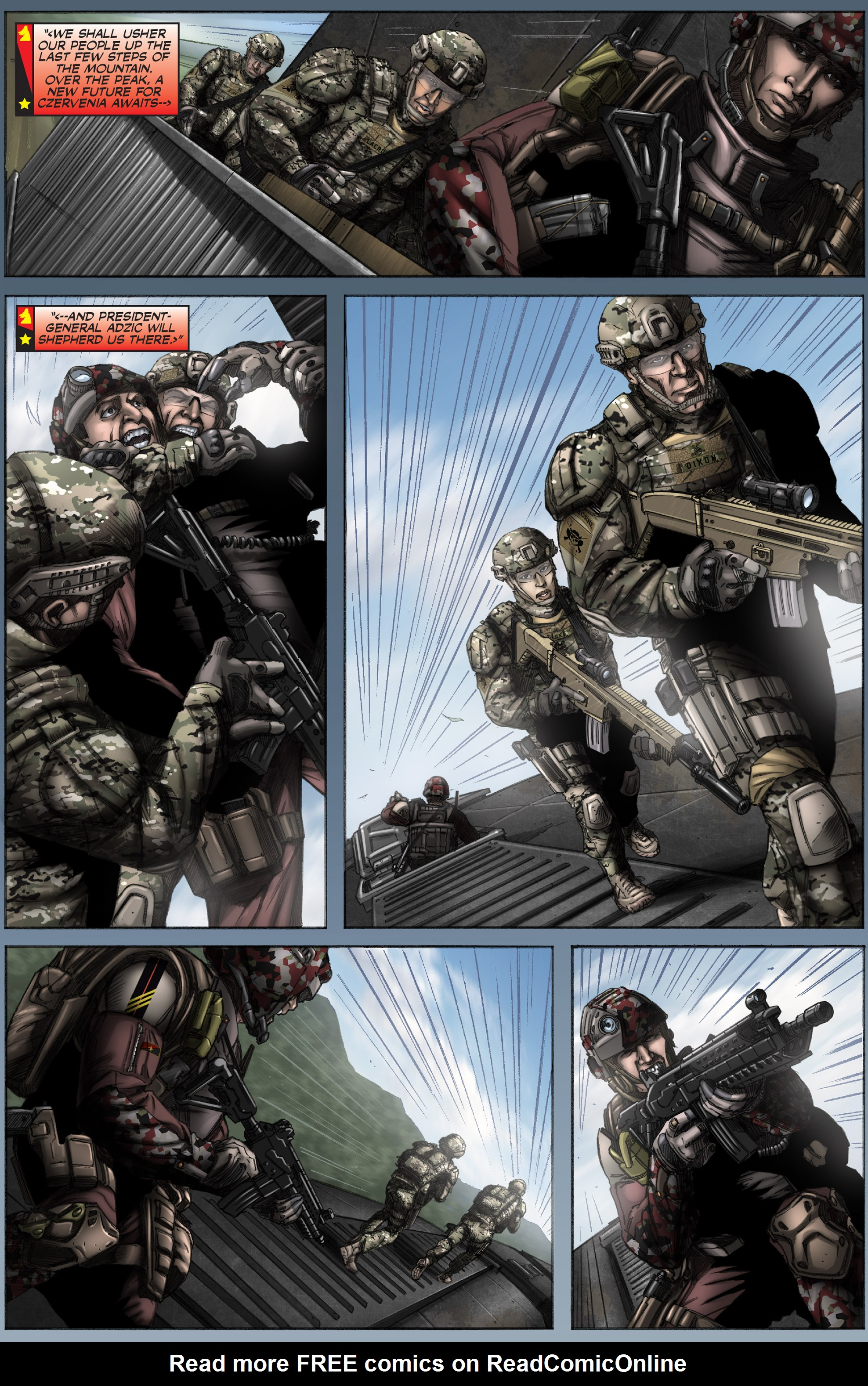 Read online America's Army comic -  Issue #12 - 10
