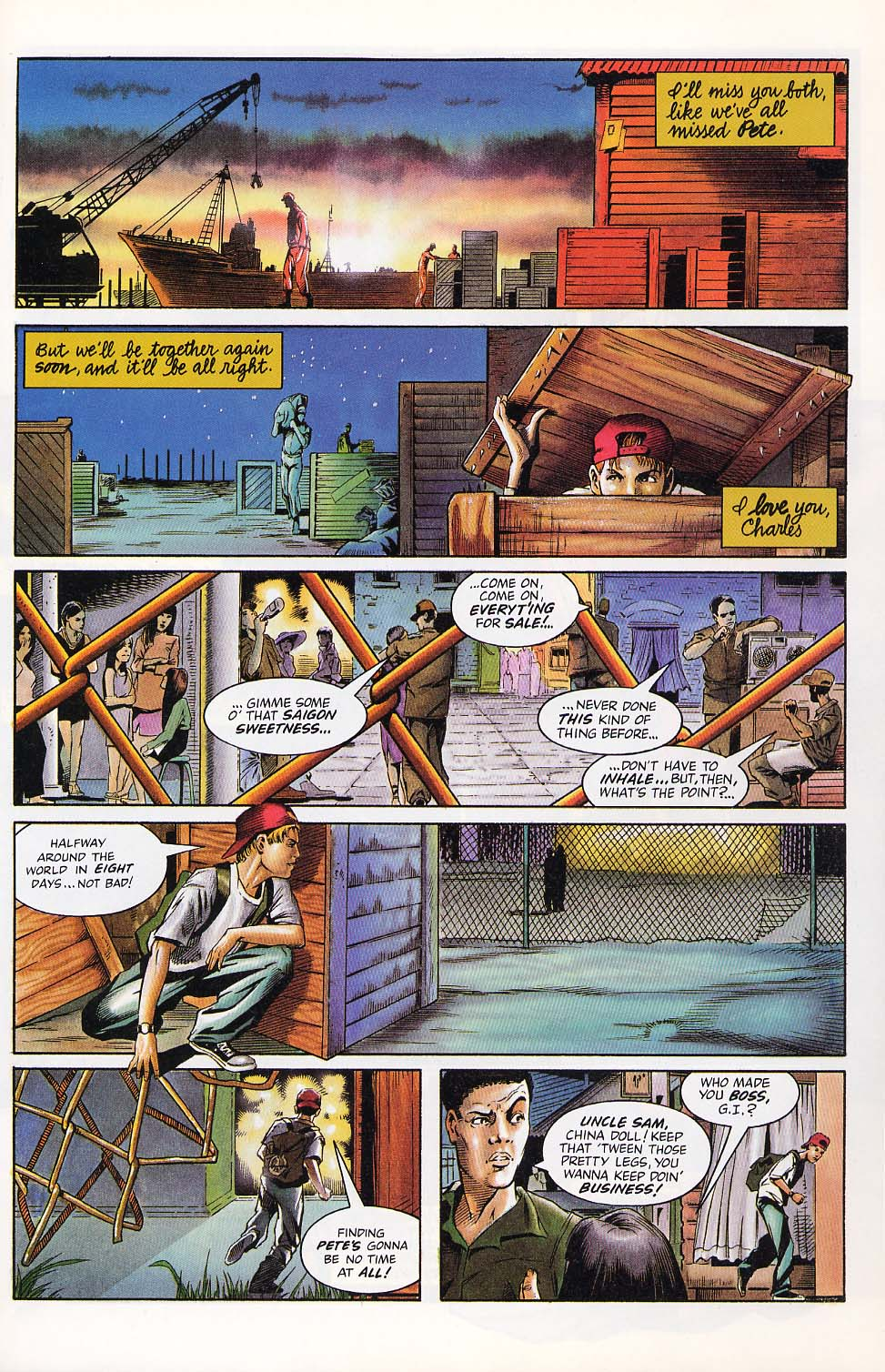 Read online Charlemagne comic -  Issue #1 - 8