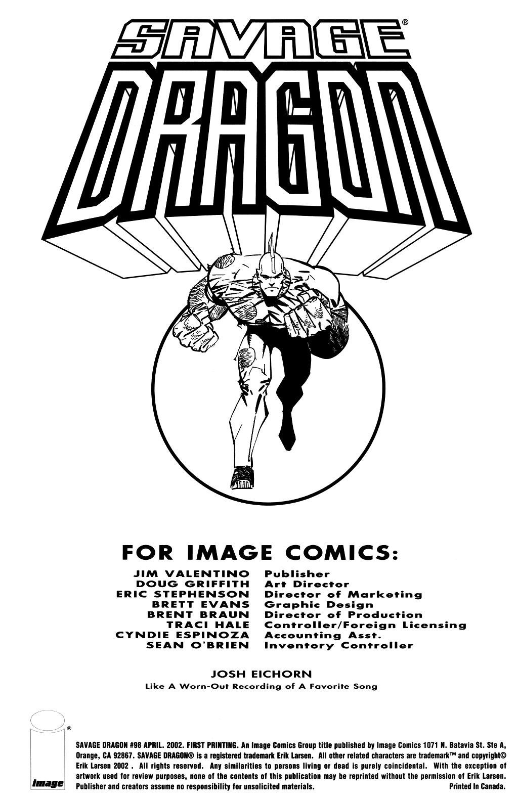 The Savage Dragon (1993) Issue #98 #101 - English 2