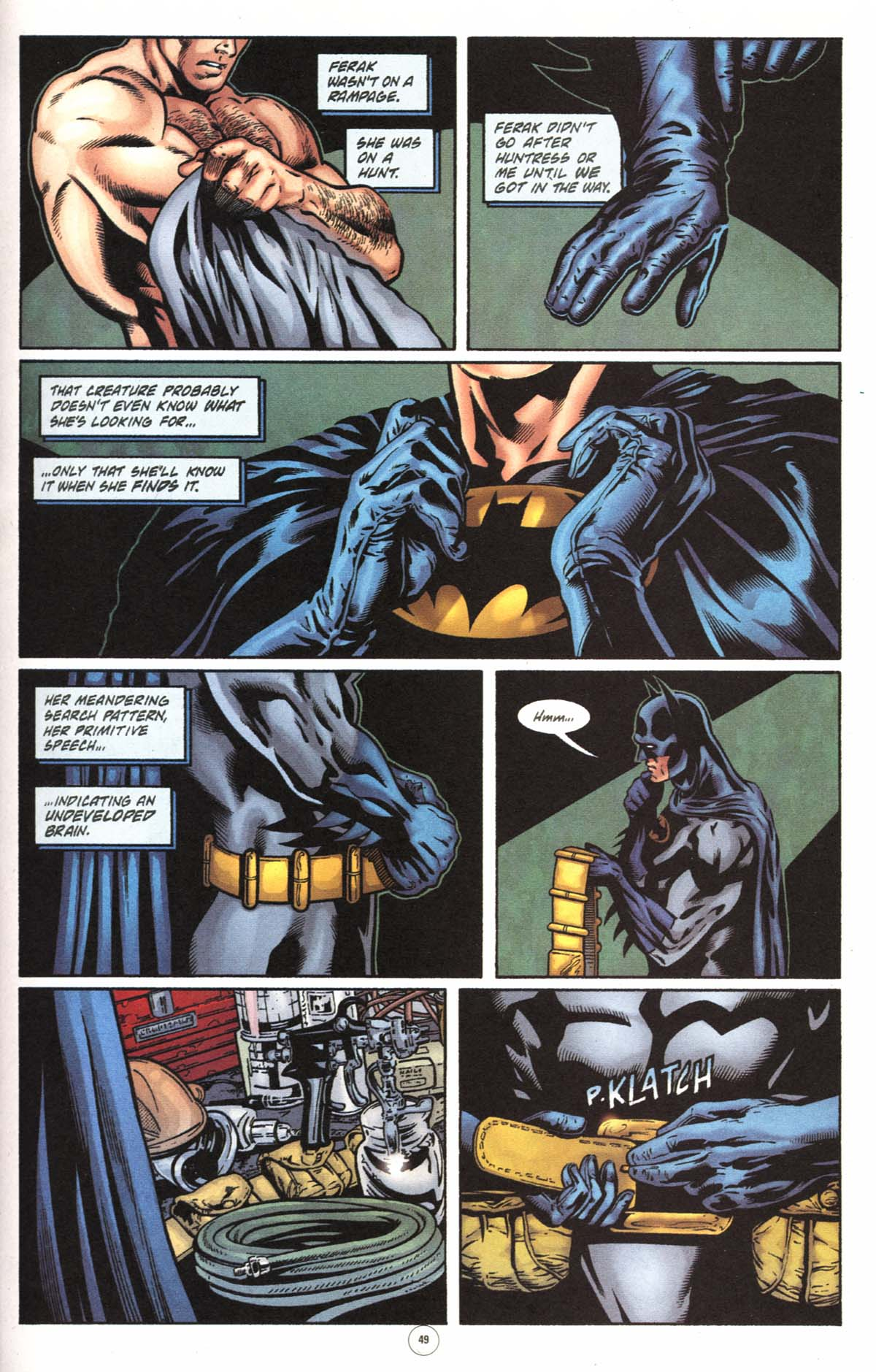 Read online Batman: No Man's Land comic -  Issue #0 - 45