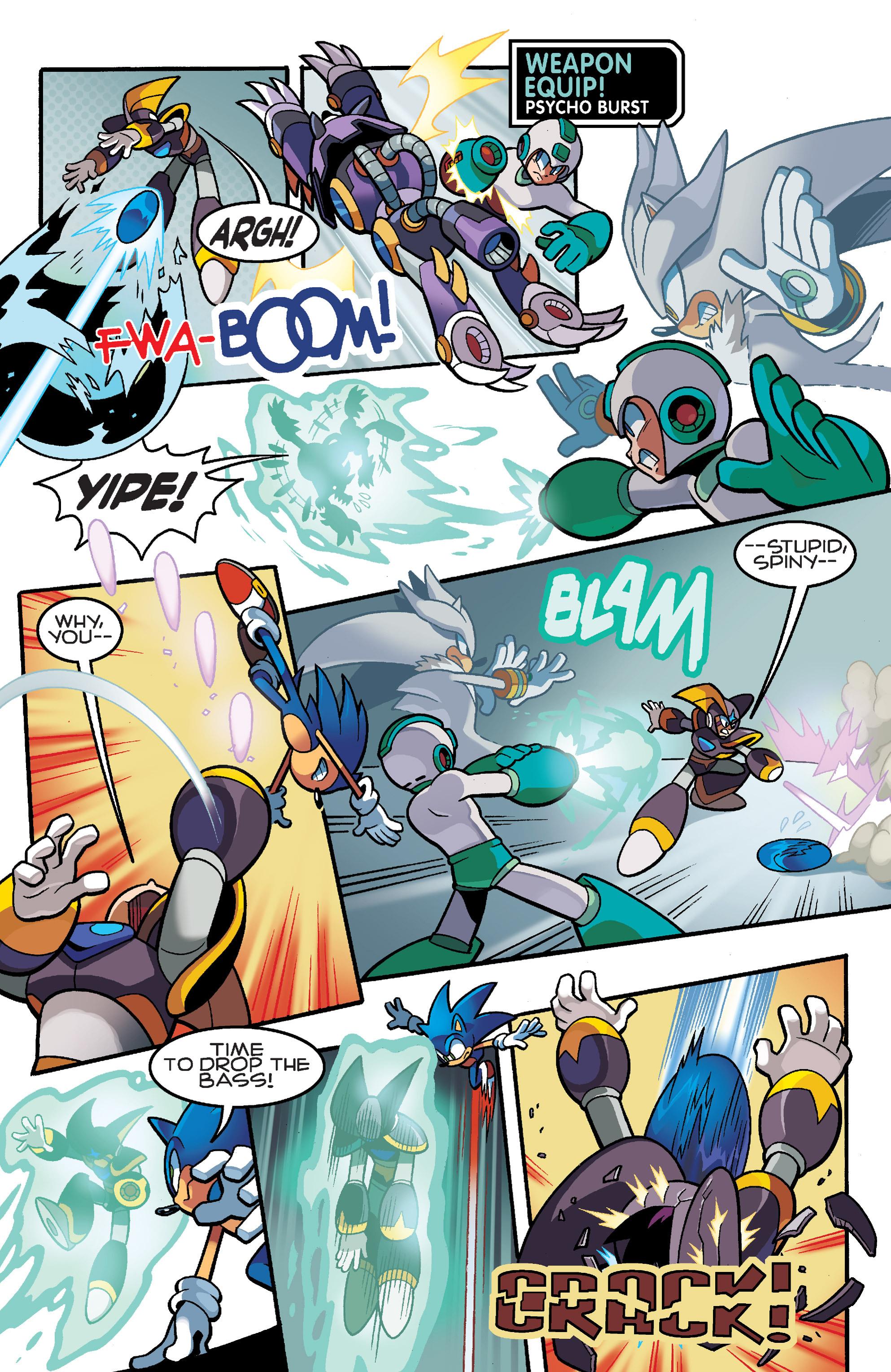 Read online Sonic Mega Man Worlds Collide comic -  Issue # Vol 3 - 83